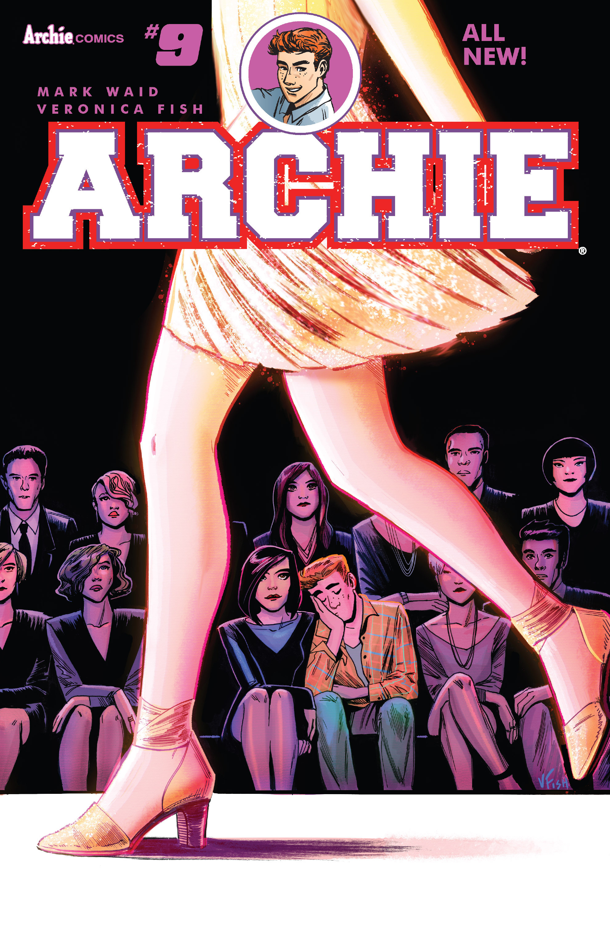 Read online Archie (2015) comic -  Issue #9 - 1