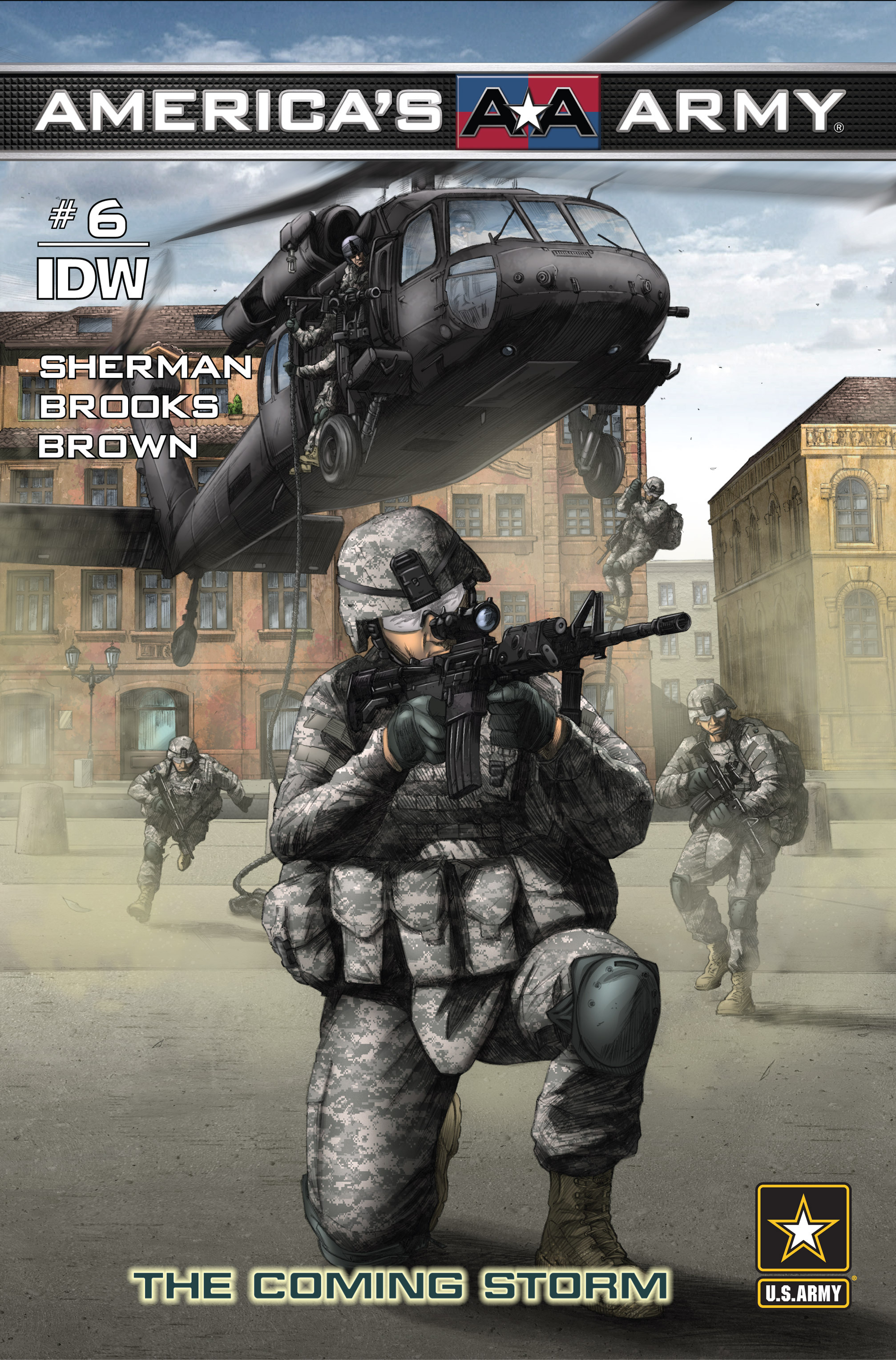 Read online America's Army comic -  Issue #6 - 1