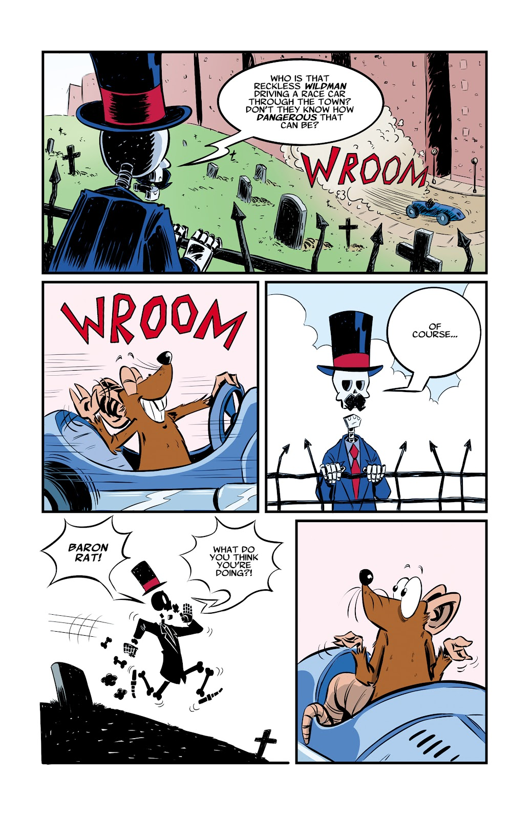 Read online The Adventures of Mr. Crypt and Baron Rat comic -  Issue #2 - 3