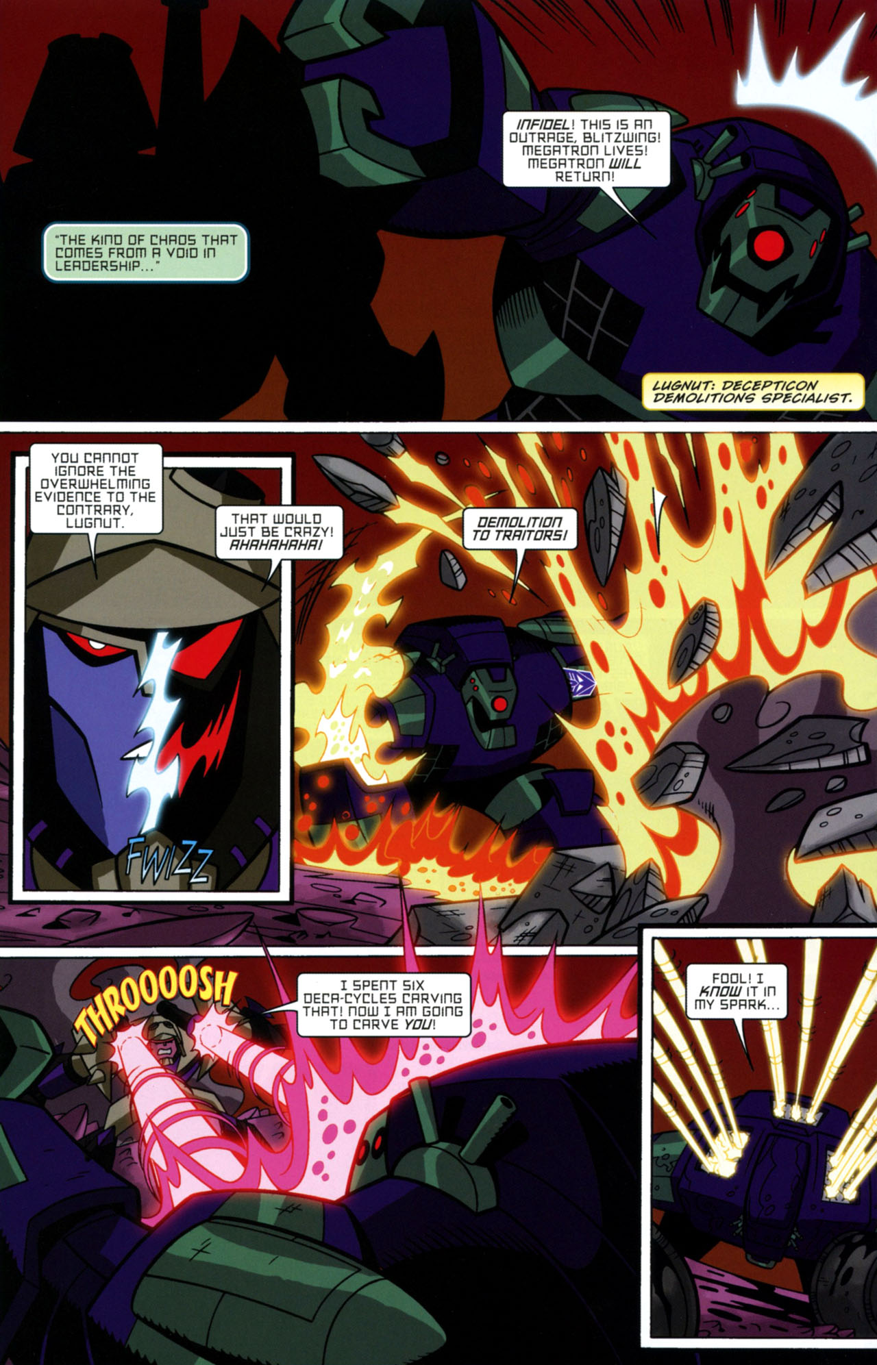 Read online Transformers Animated: The Arrival comic -  Issue #1 - 11