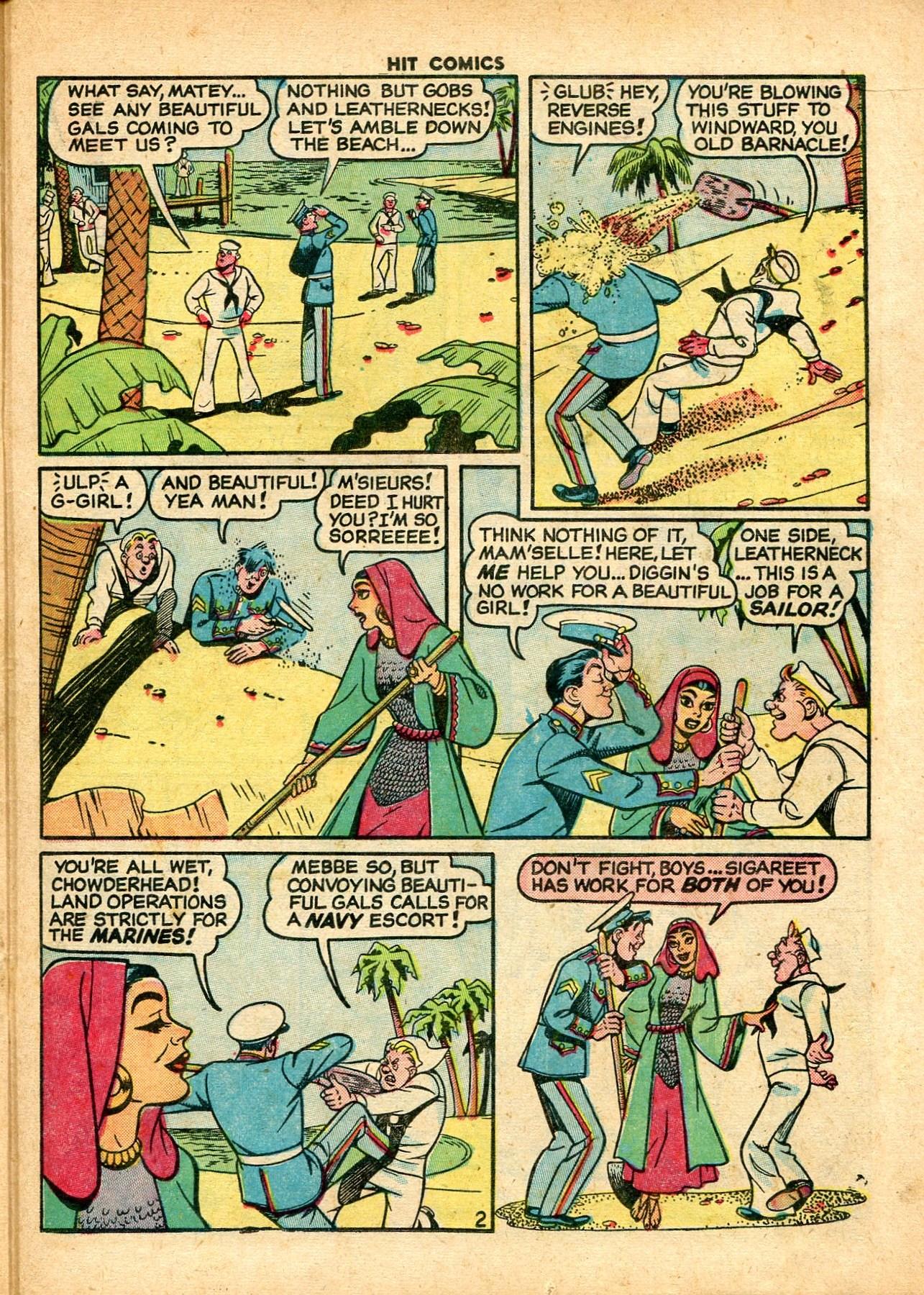 Read online Hit Comics comic -  Issue #59 - 23