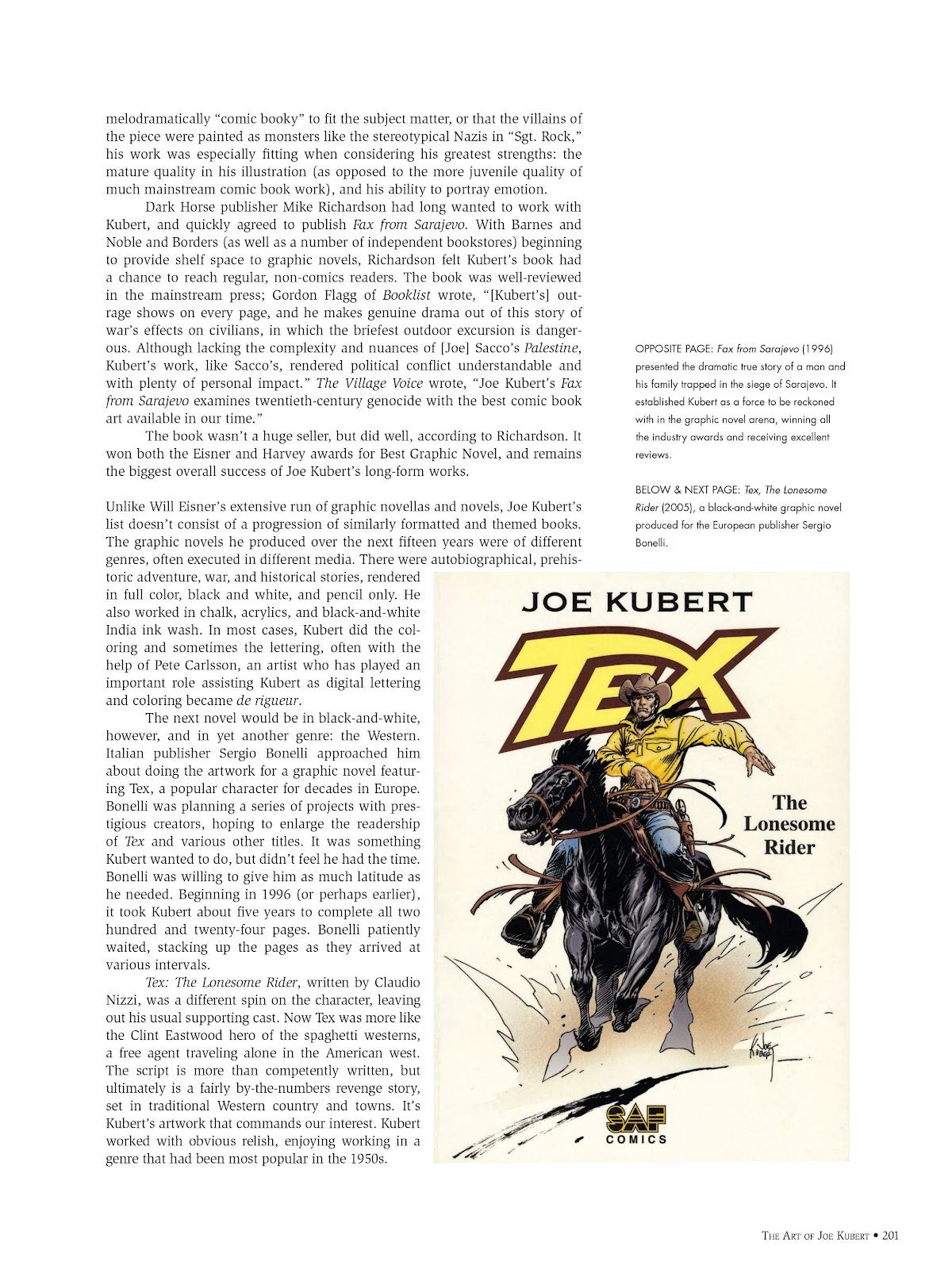 Read online The Art of Joe Kubert comic -  Issue # TPB (Part 3) - 1