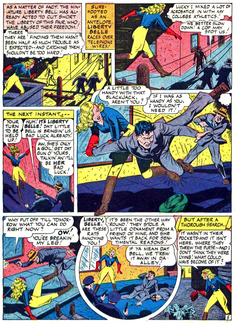 Star Spangled Comics (1941) issue 27 - Page 44