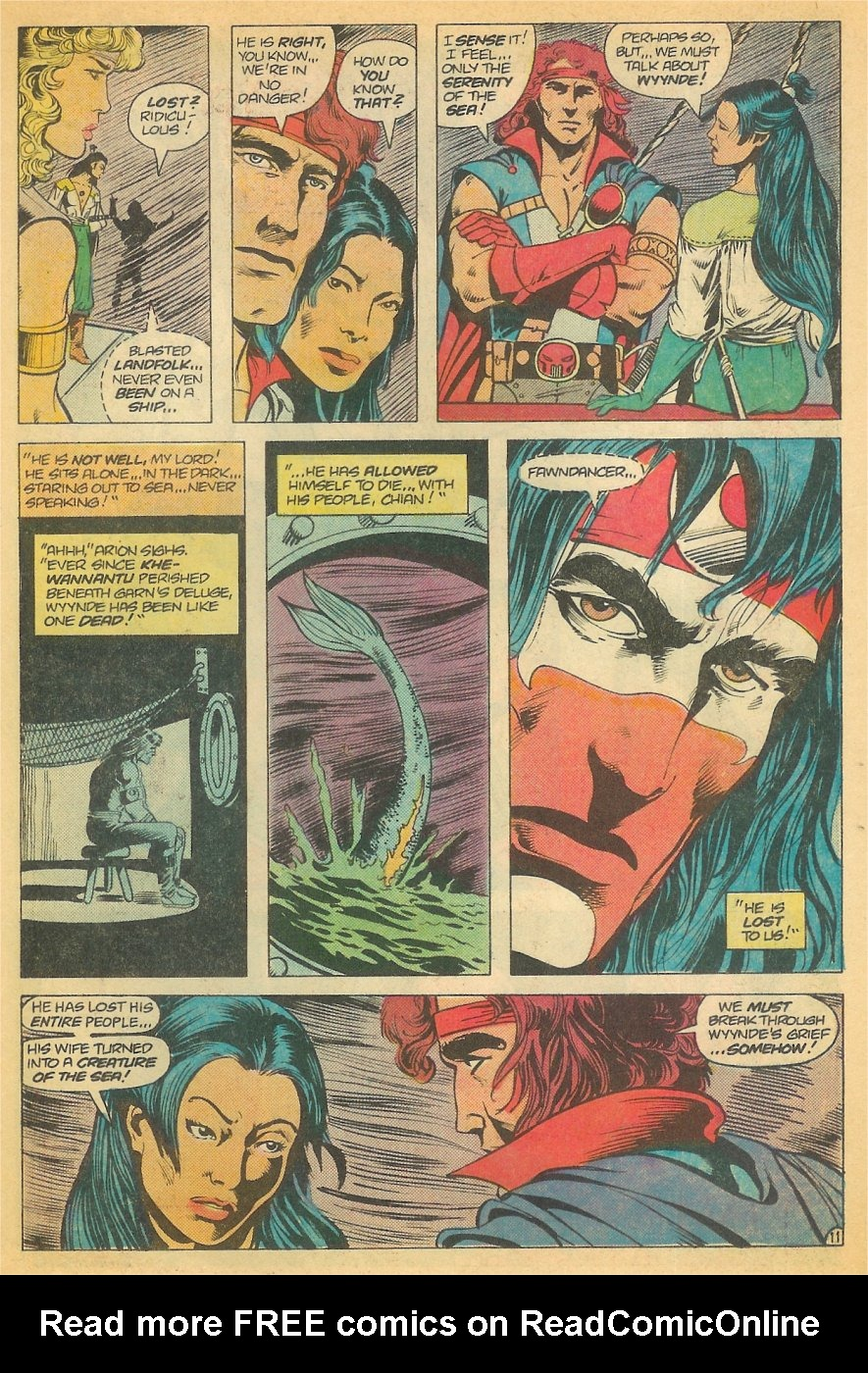 Read online Arion, Lord of Atlantis comic -  Issue #21 - 12