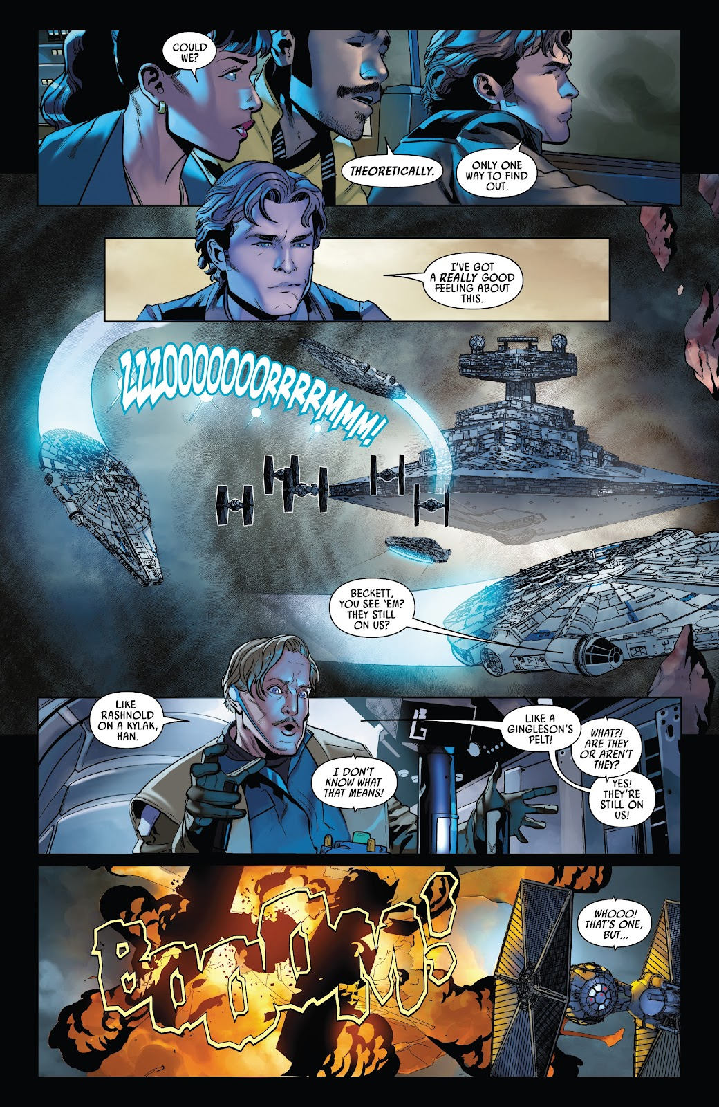 Read online Solo: A Star Wars Story Adaptation comic -  Issue #5 - 5