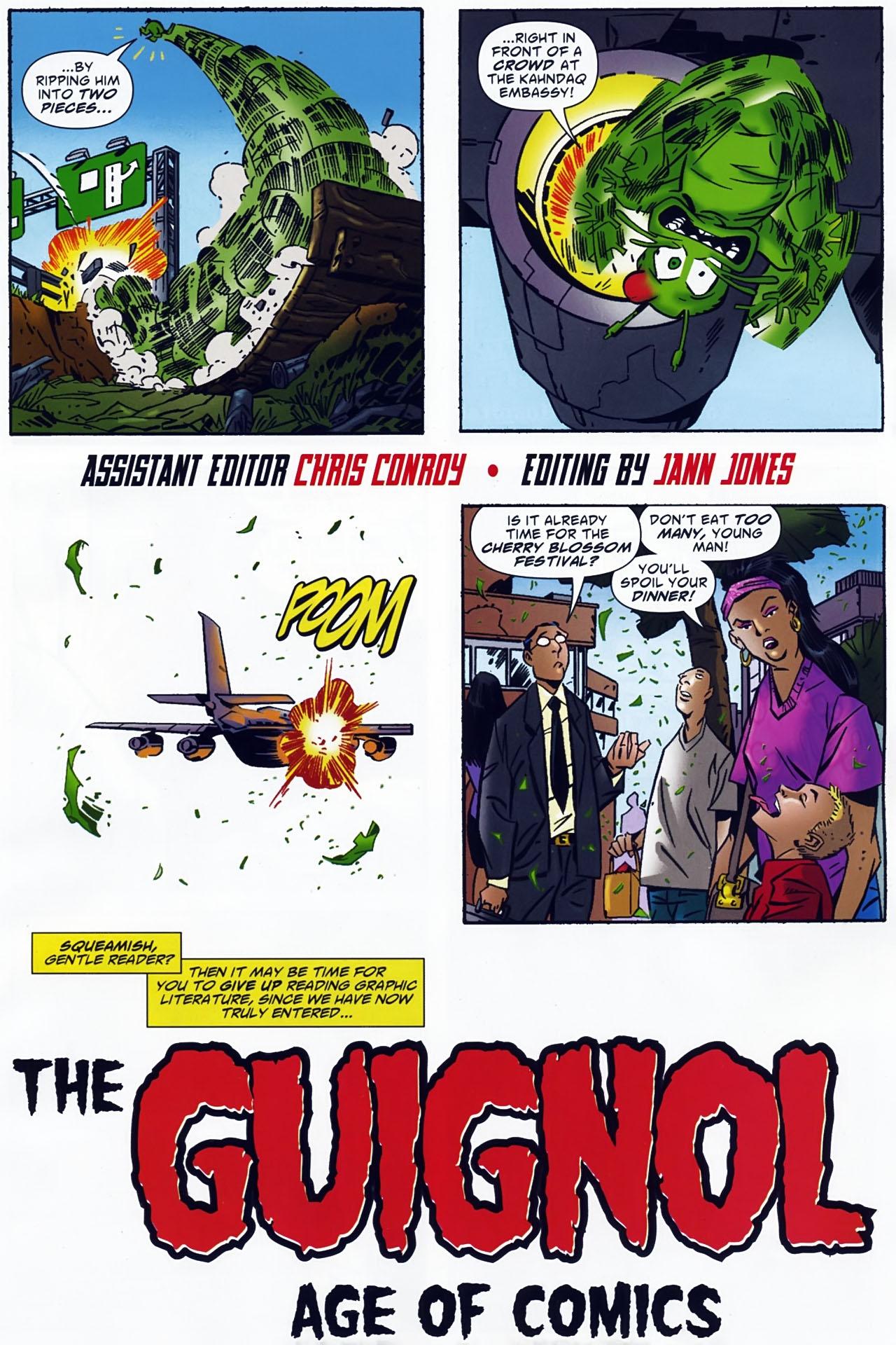 Read online Ambush Bug: Year None comic -  Issue #4 - 7