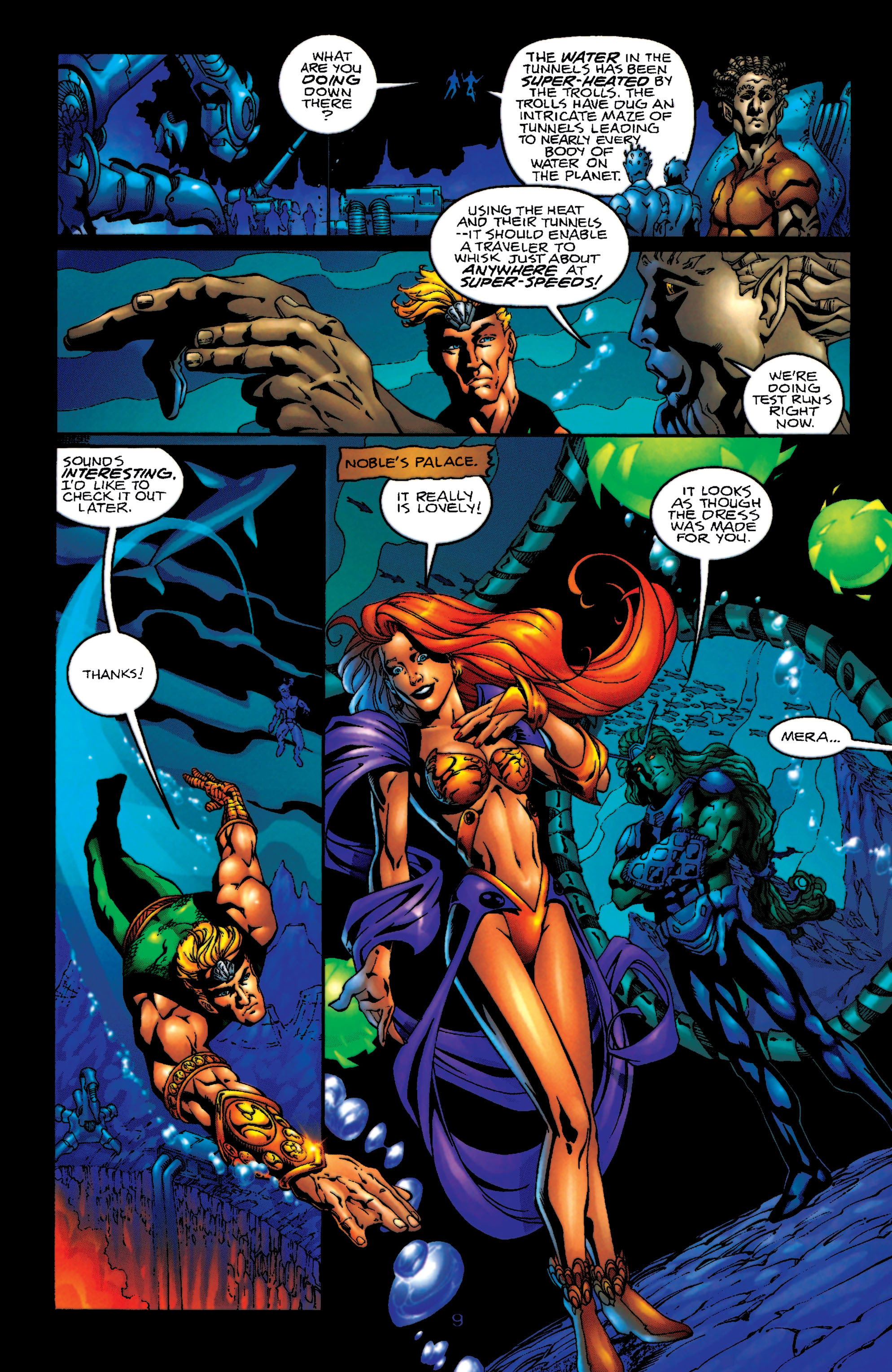 Read online Aquaman (1994) comic -  Issue #55 - 10