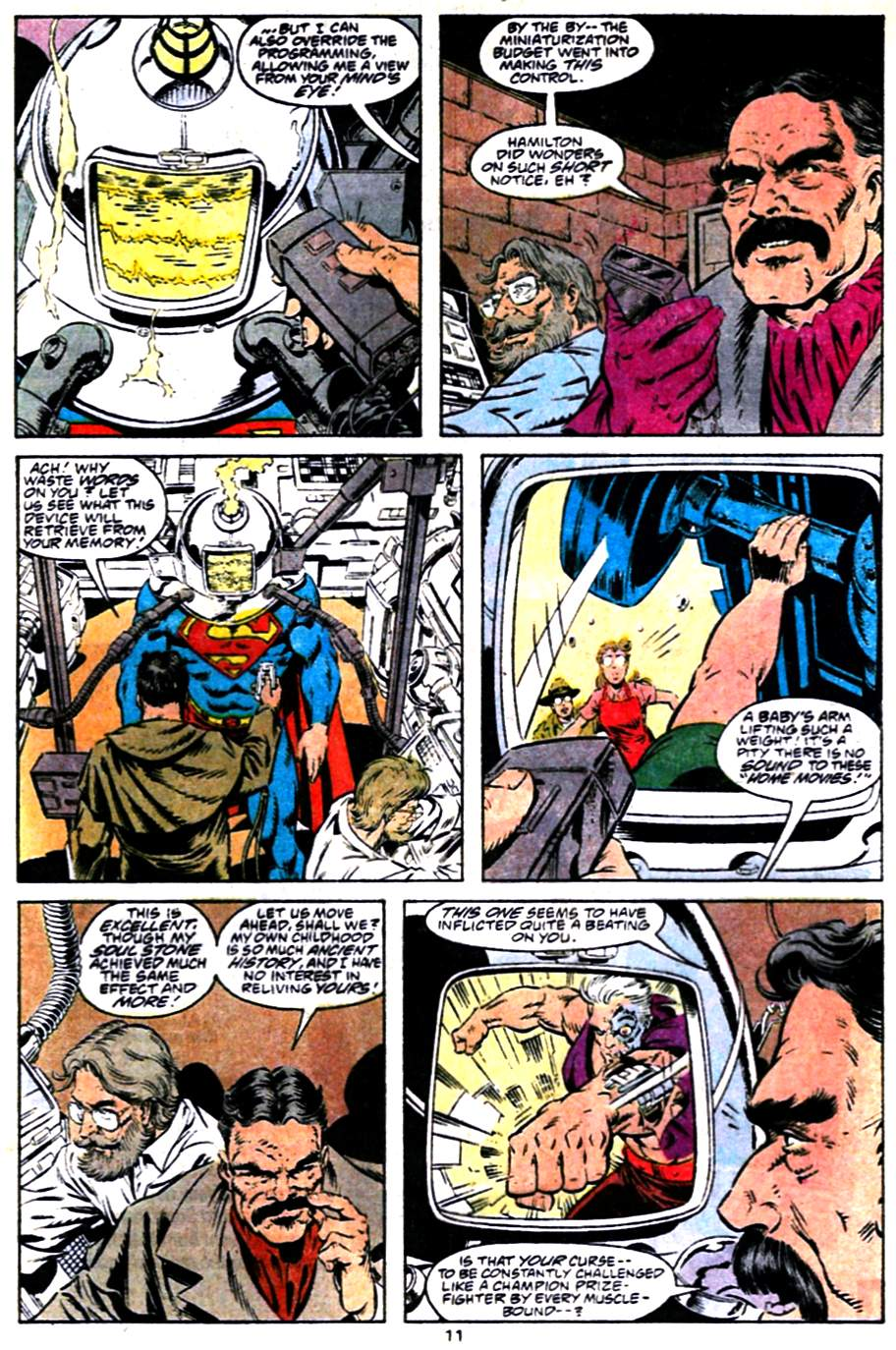 Read online Adventures of Superman (1987) comic -  Issue #484 - 12