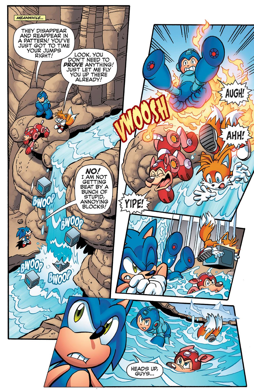 Read online Sonic Mega Man Worlds Collide comic -  Issue # Vol 2 - 72