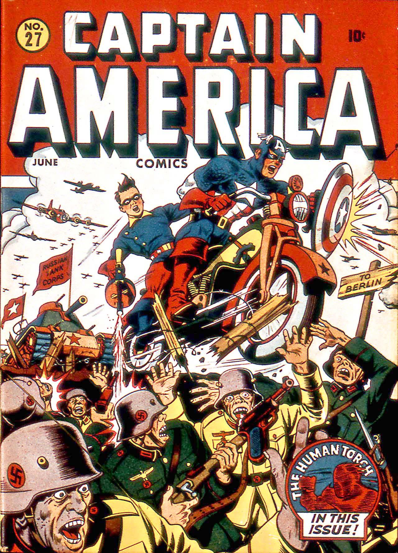 Captain America Comics 27 Page 1