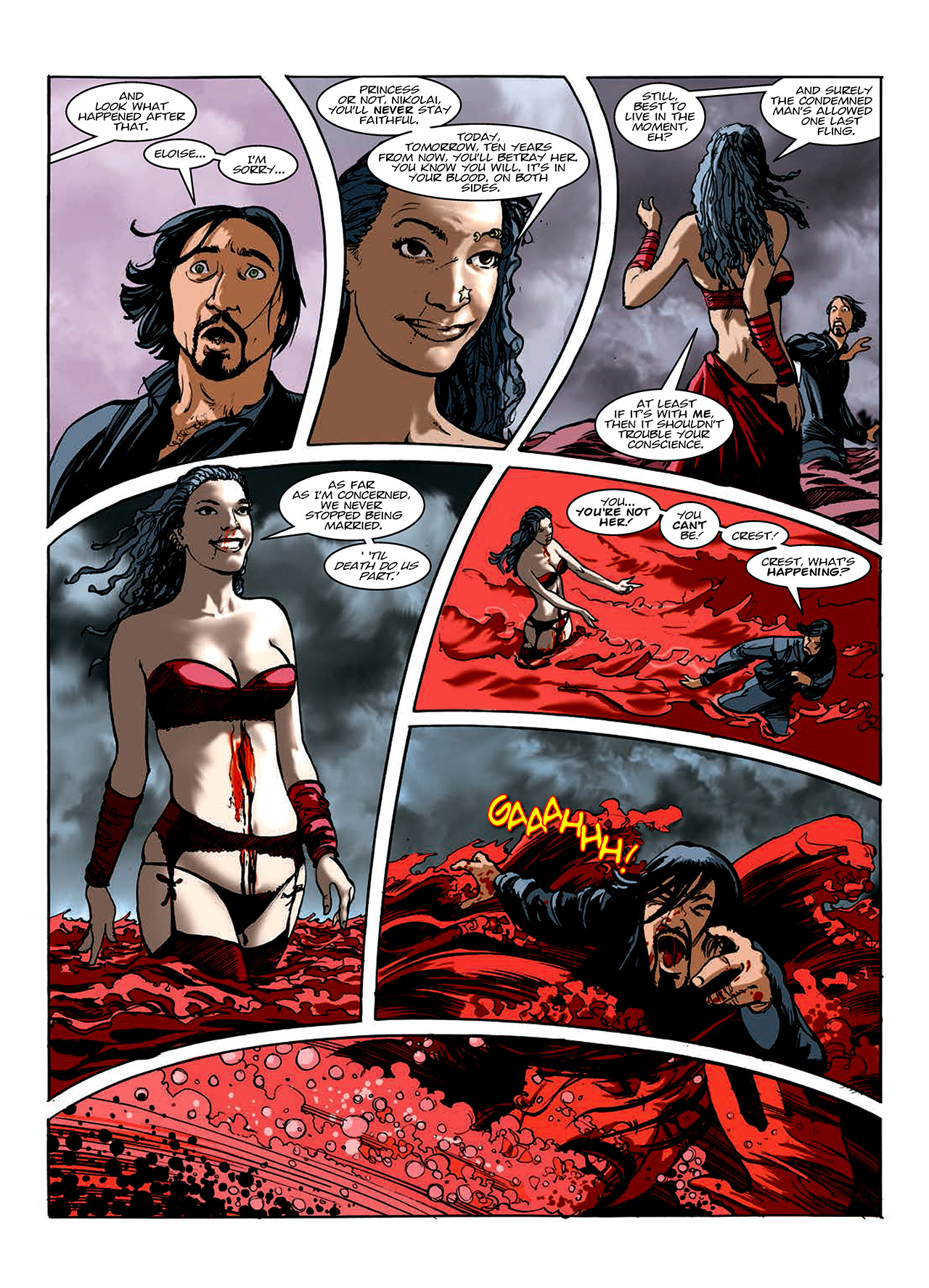 Read online Nikolai Dante comic -  Issue # TPB 10 - 119