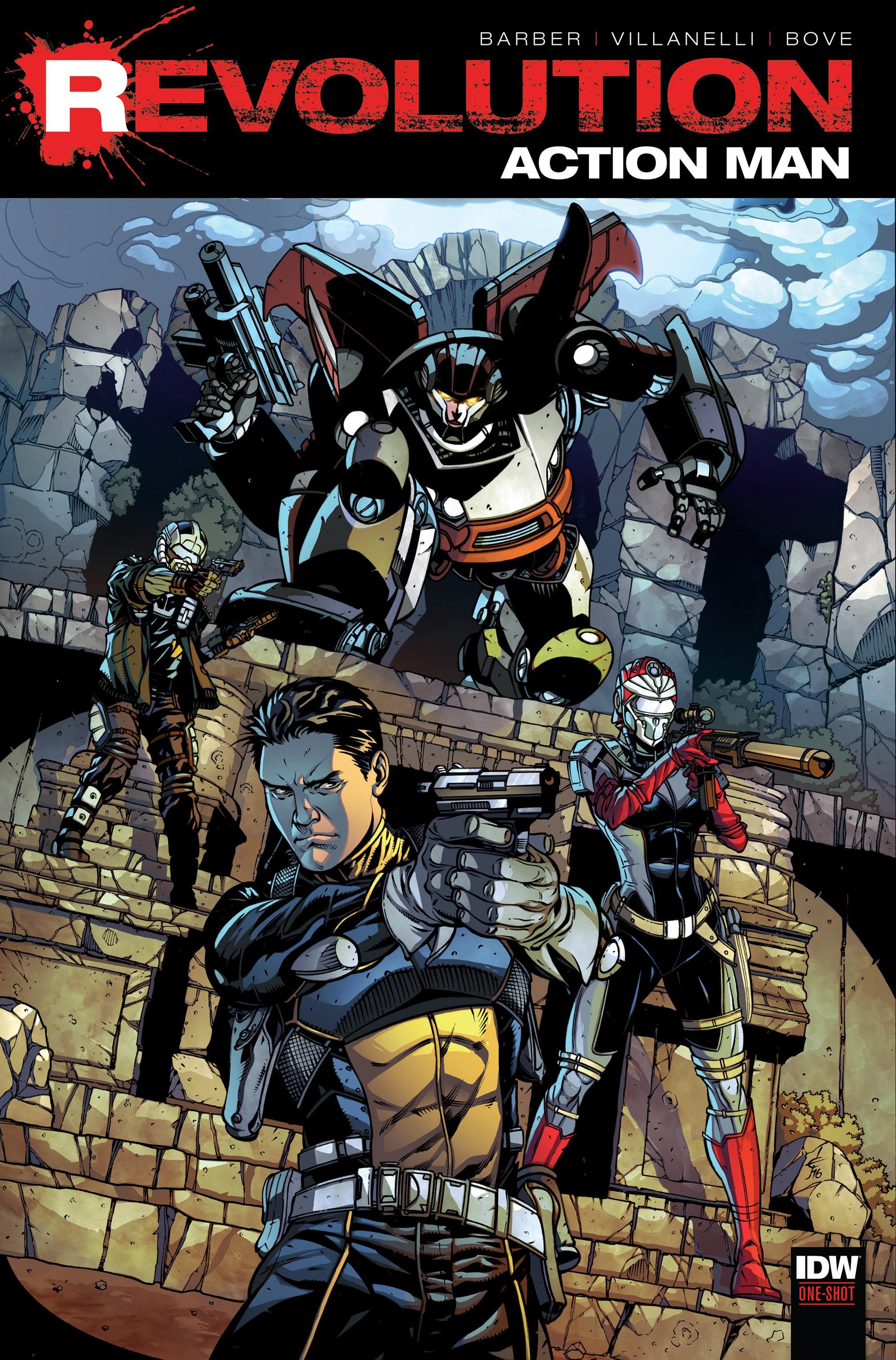 Read online Action Man: Revolution comic -  Issue #Action Man: Revolution Full - 1