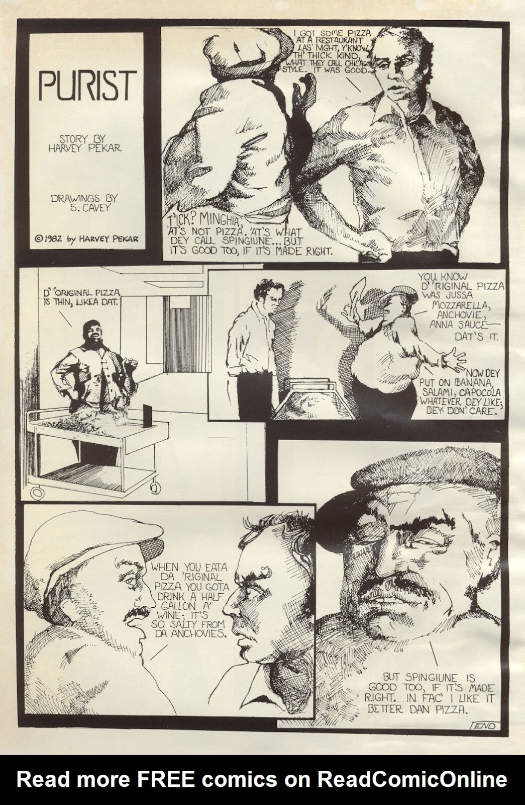 American Splendor (1976) issue 7 - Page 60