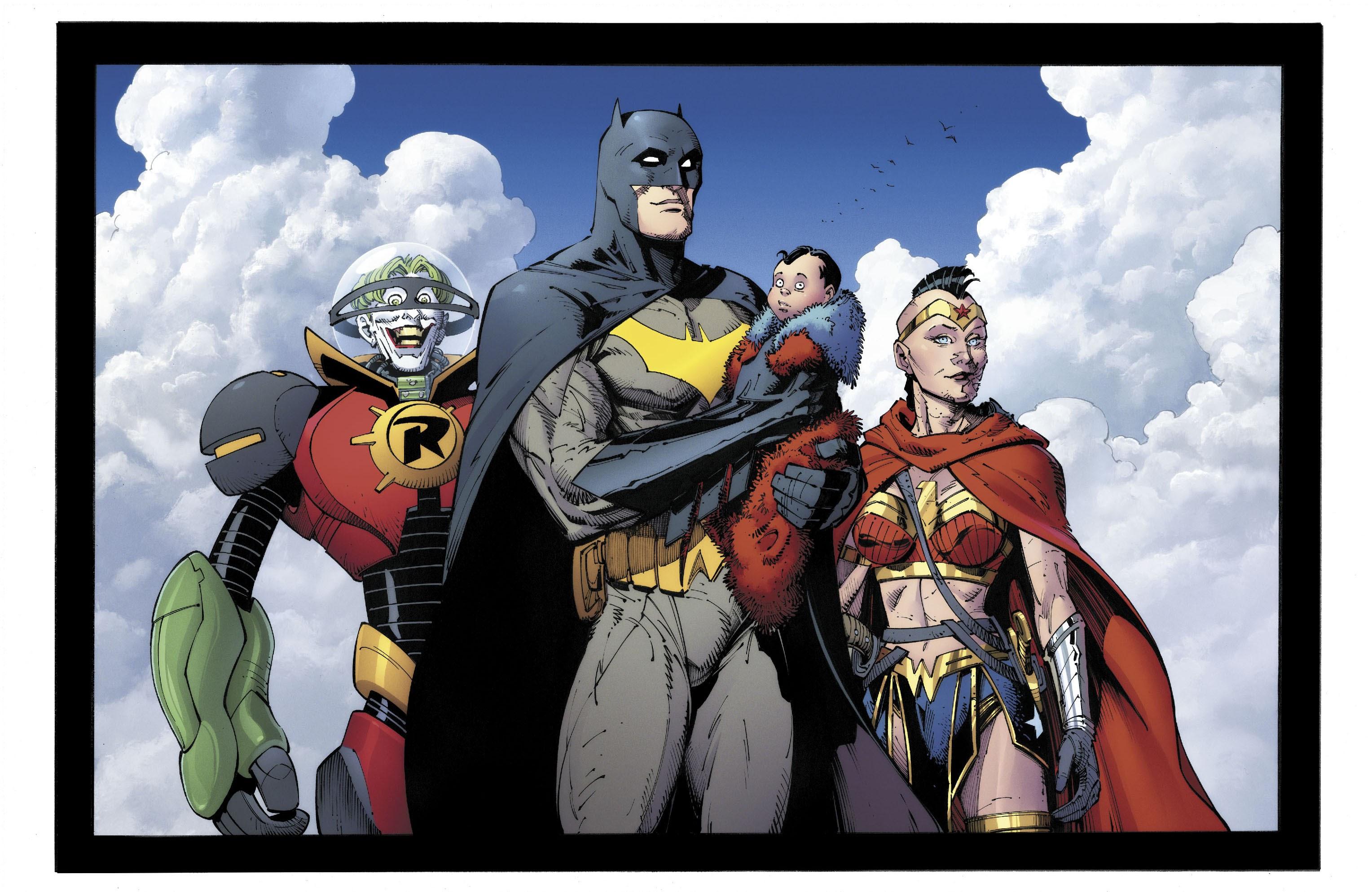 《蝙蝠俠:地球的最後騎士》結局讓小丑跟蝙蝠俠、神力女超人和超人多元成家?!