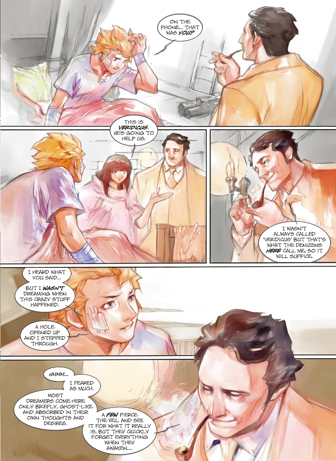 Read online Makeshift Miracle: The Girl From Nowhere comic -  Issue #9 - 5