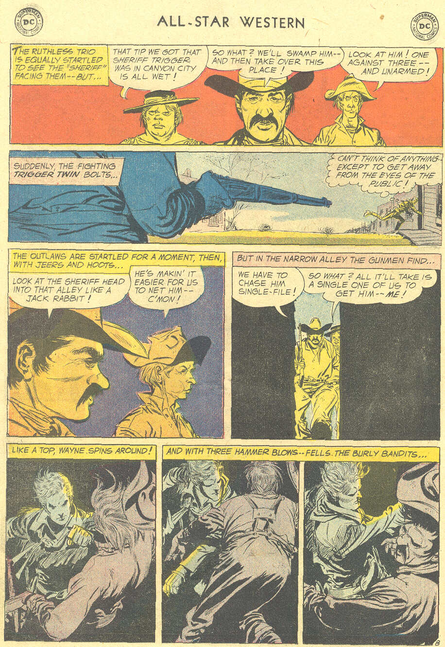 Read online All-Star Western (1951) comic -  Issue #105 - 10