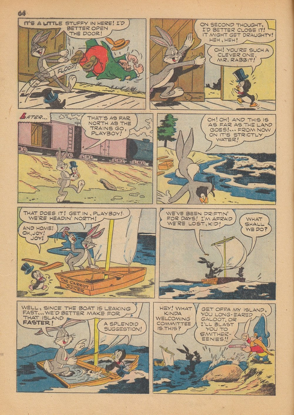 Bugs Bunny's Christmas Funnies issue TPB 4 - Page 66