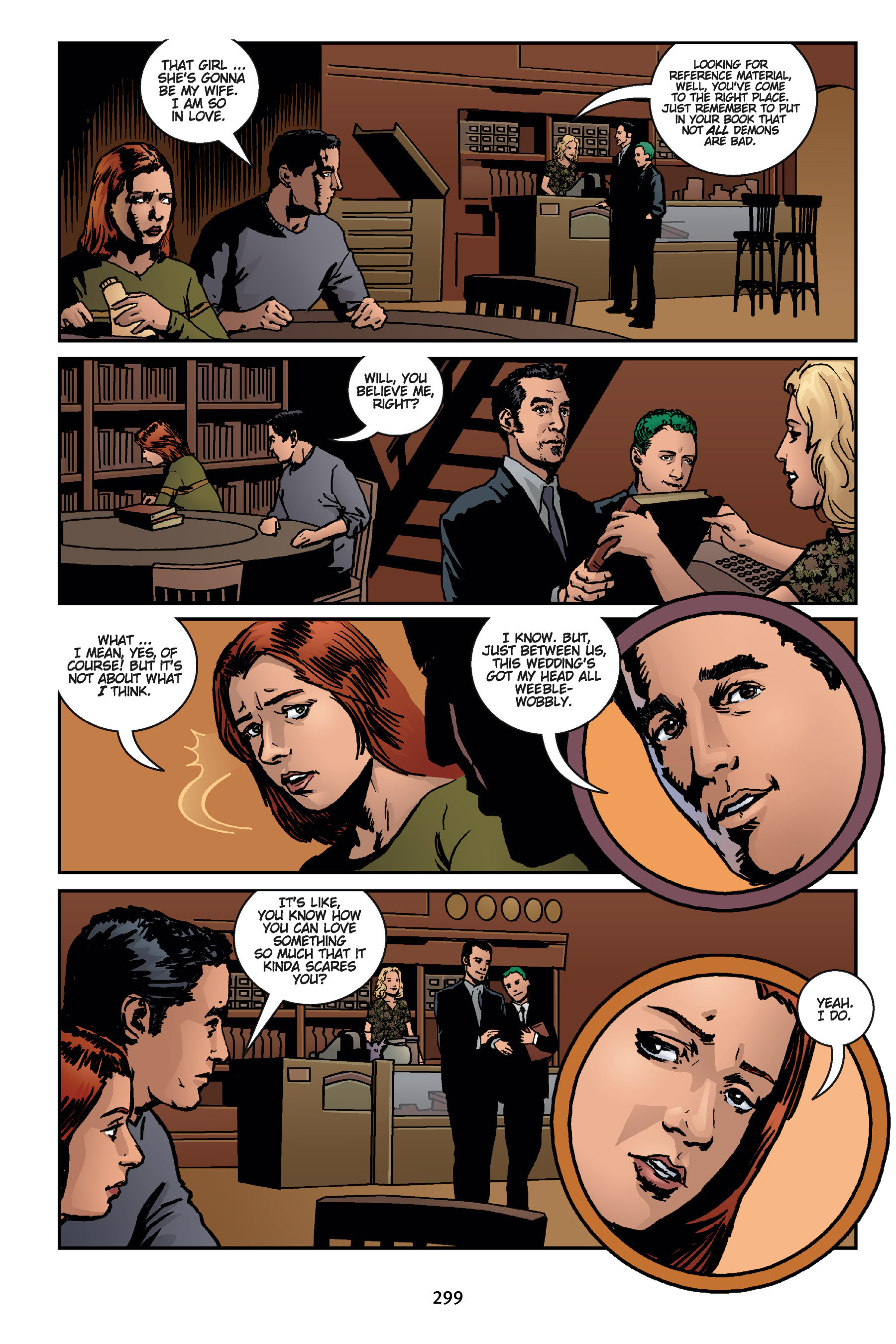 Read online Buffy the Vampire Slayer: Omnibus comic -  Issue # TPB 7 - 297