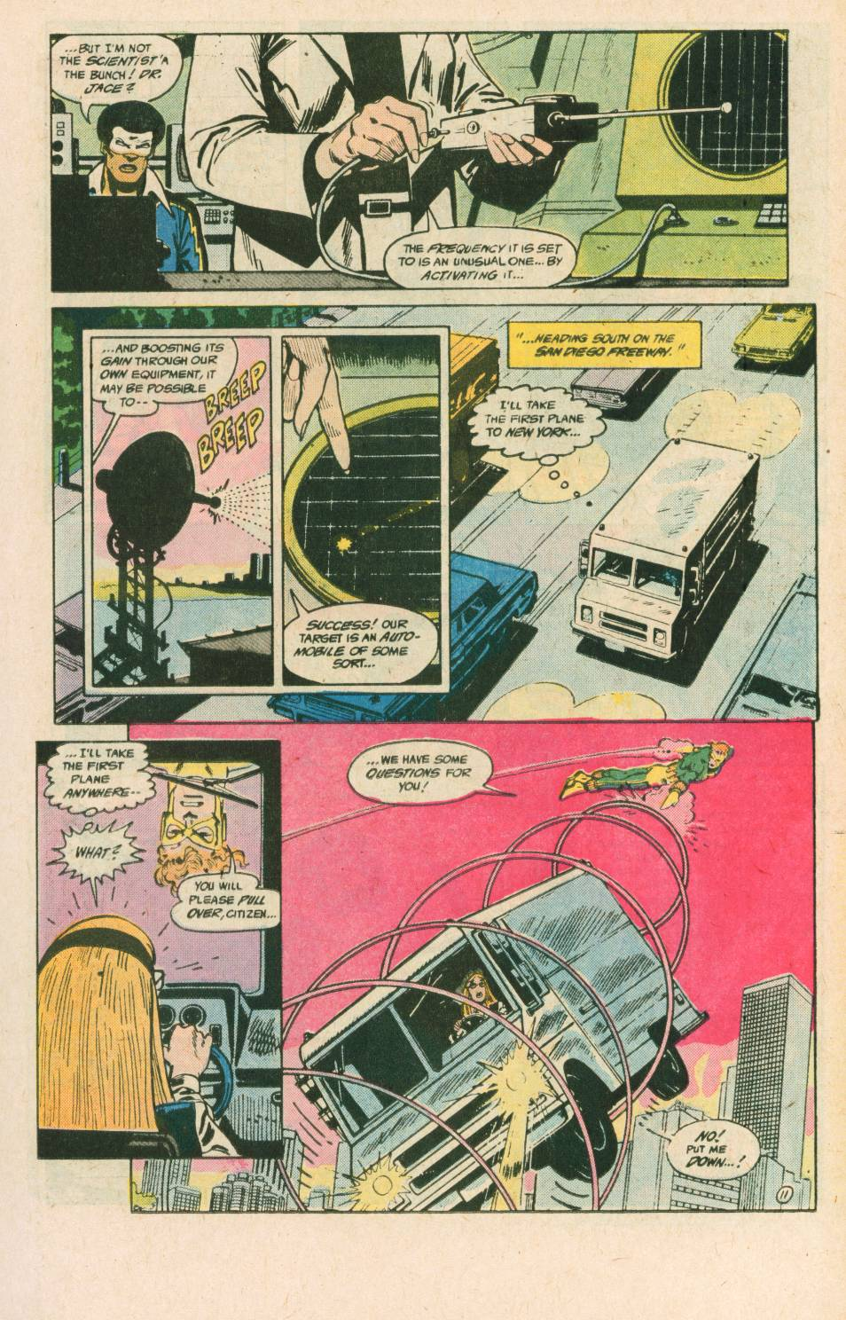 Read online Adventures of the Outsiders comic -  Issue #40 - 12