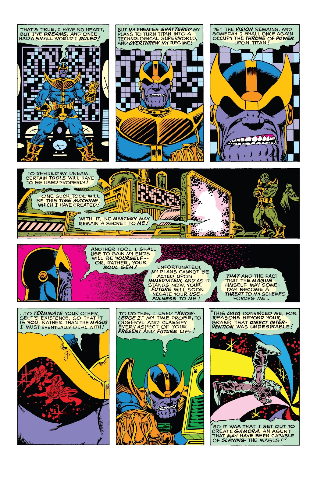 Read online Marvel Tales: Thanos comic -  Issue # Full - 20