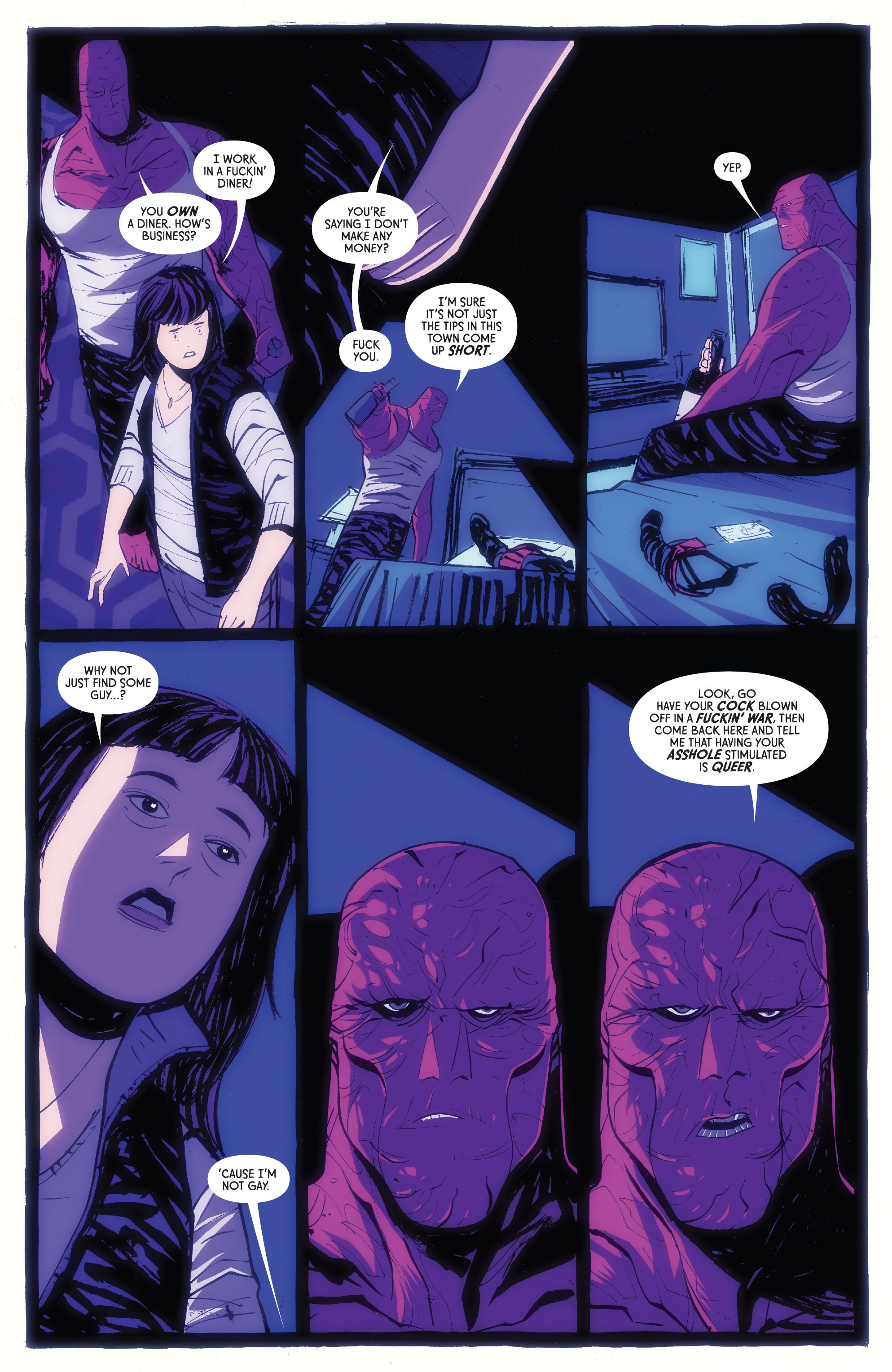 Read online American Monster comic -  Issue #6 - 23