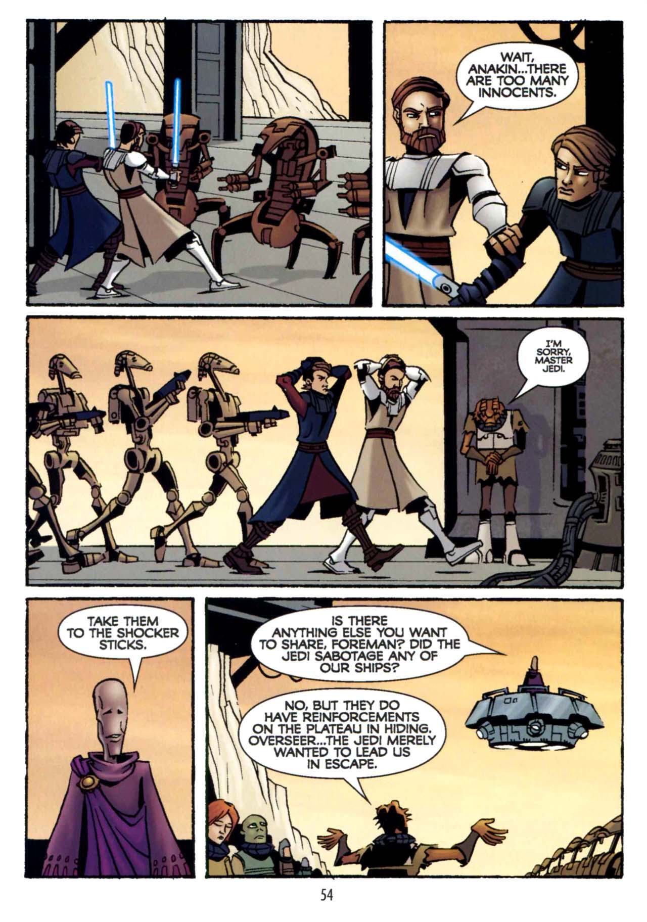 Read online Star Wars: The Clone Wars - Shipyards of Doom comic -  Issue # Full - 52