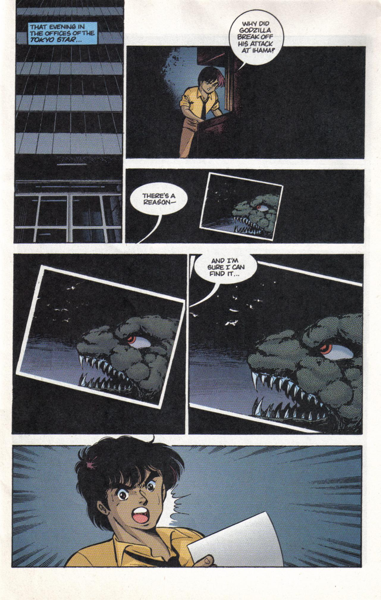 Read online Dark Horse Classics: Terror of Godzilla comic -  Issue #3 - 9