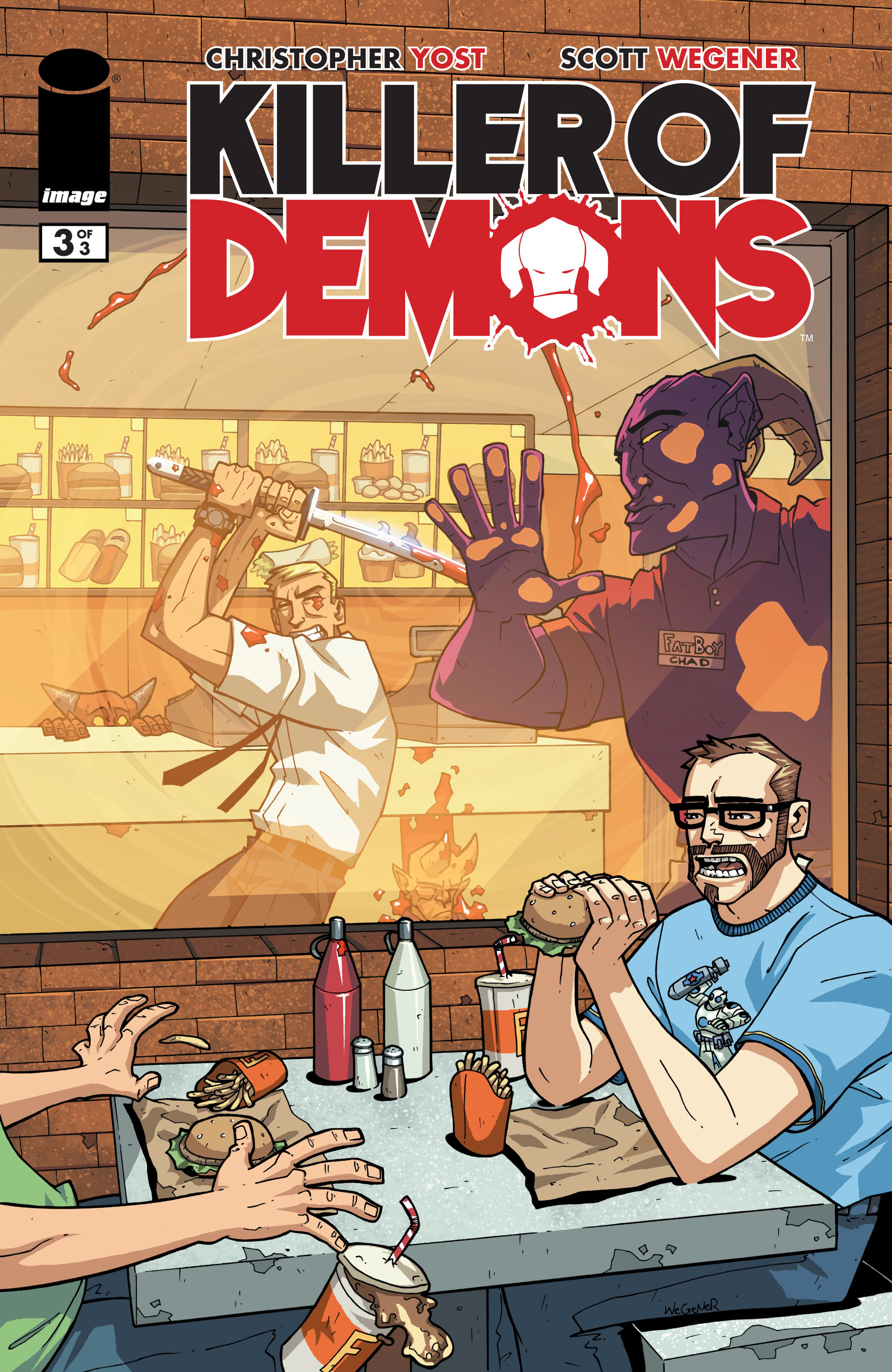 Read online Killer Of Demons comic -  Issue #3 - 1