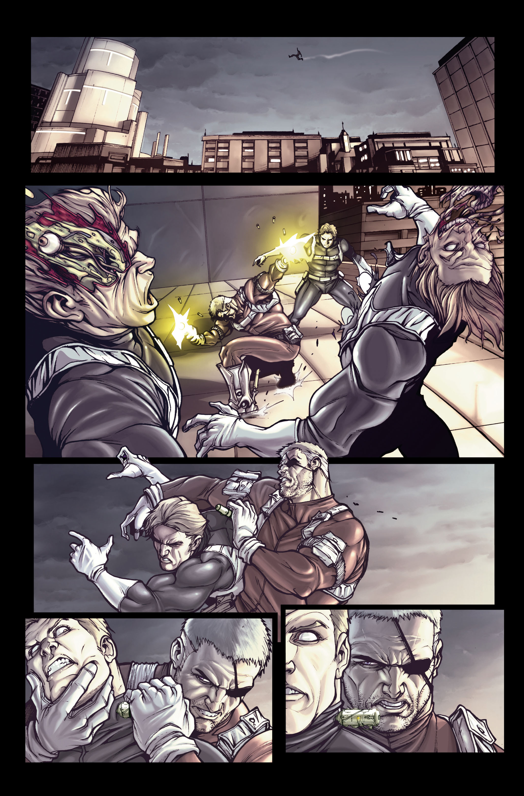 Read online Secret Warriors comic -  Issue #1 - 17