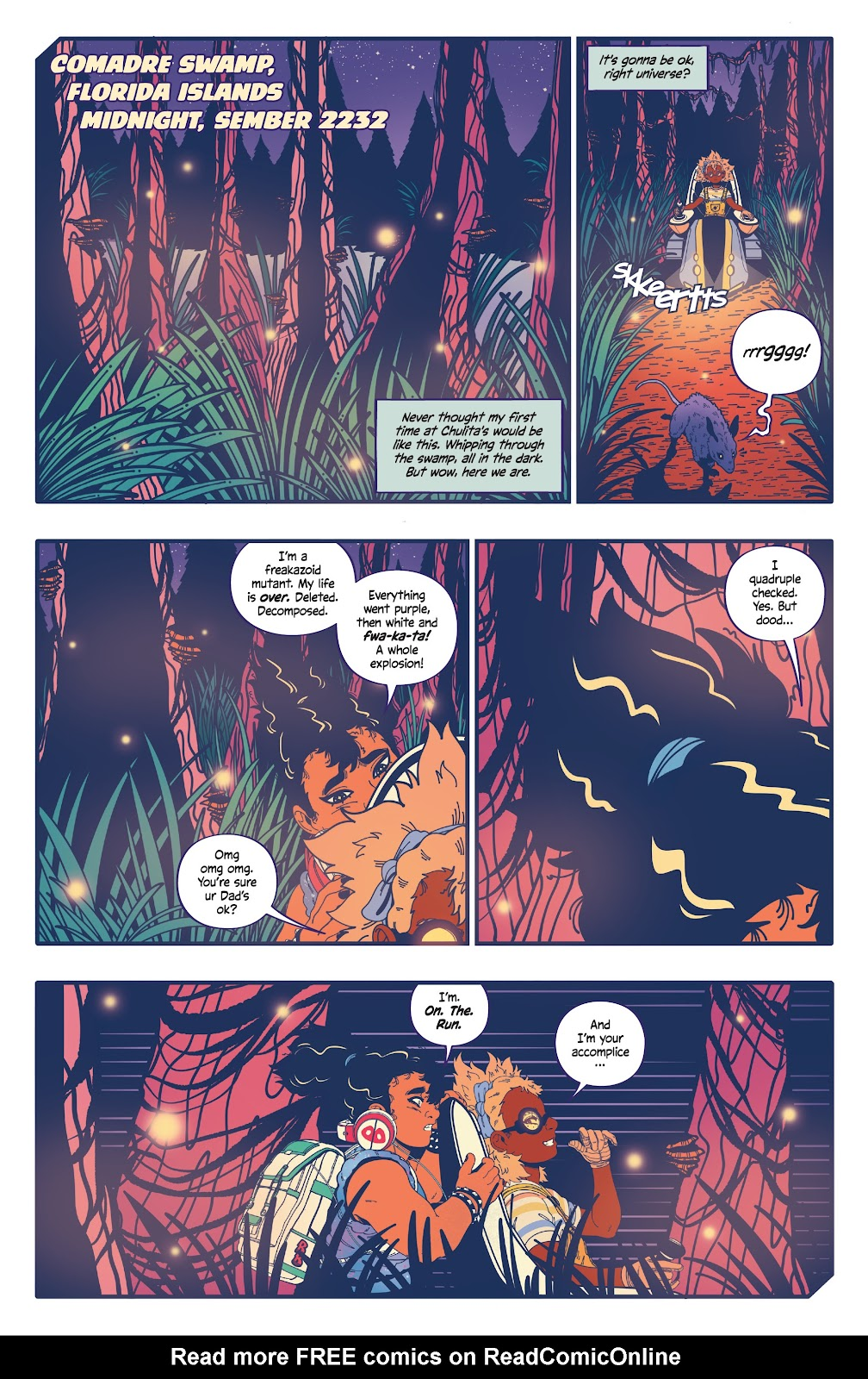 Read online b.b. free comic -  Issue #2 - 3