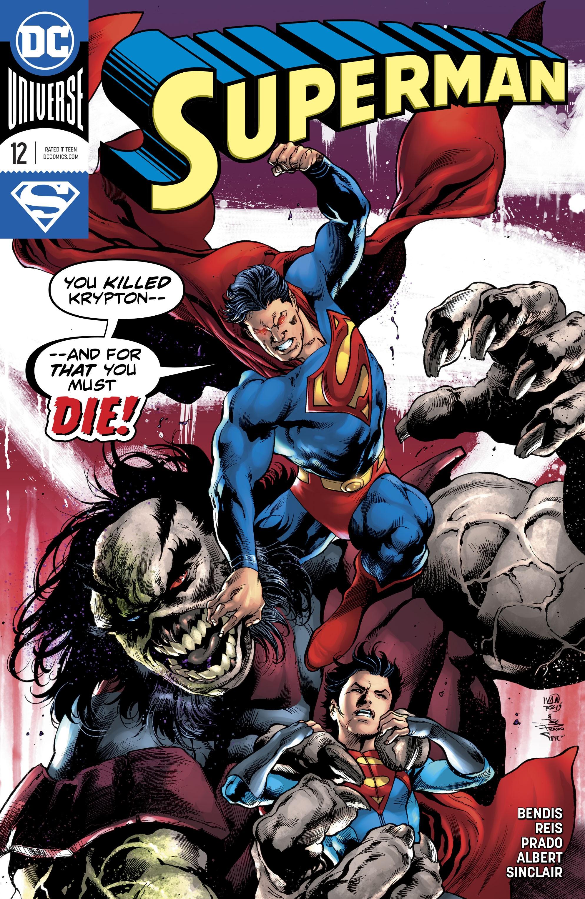 Superman (2018) 12 Page 1