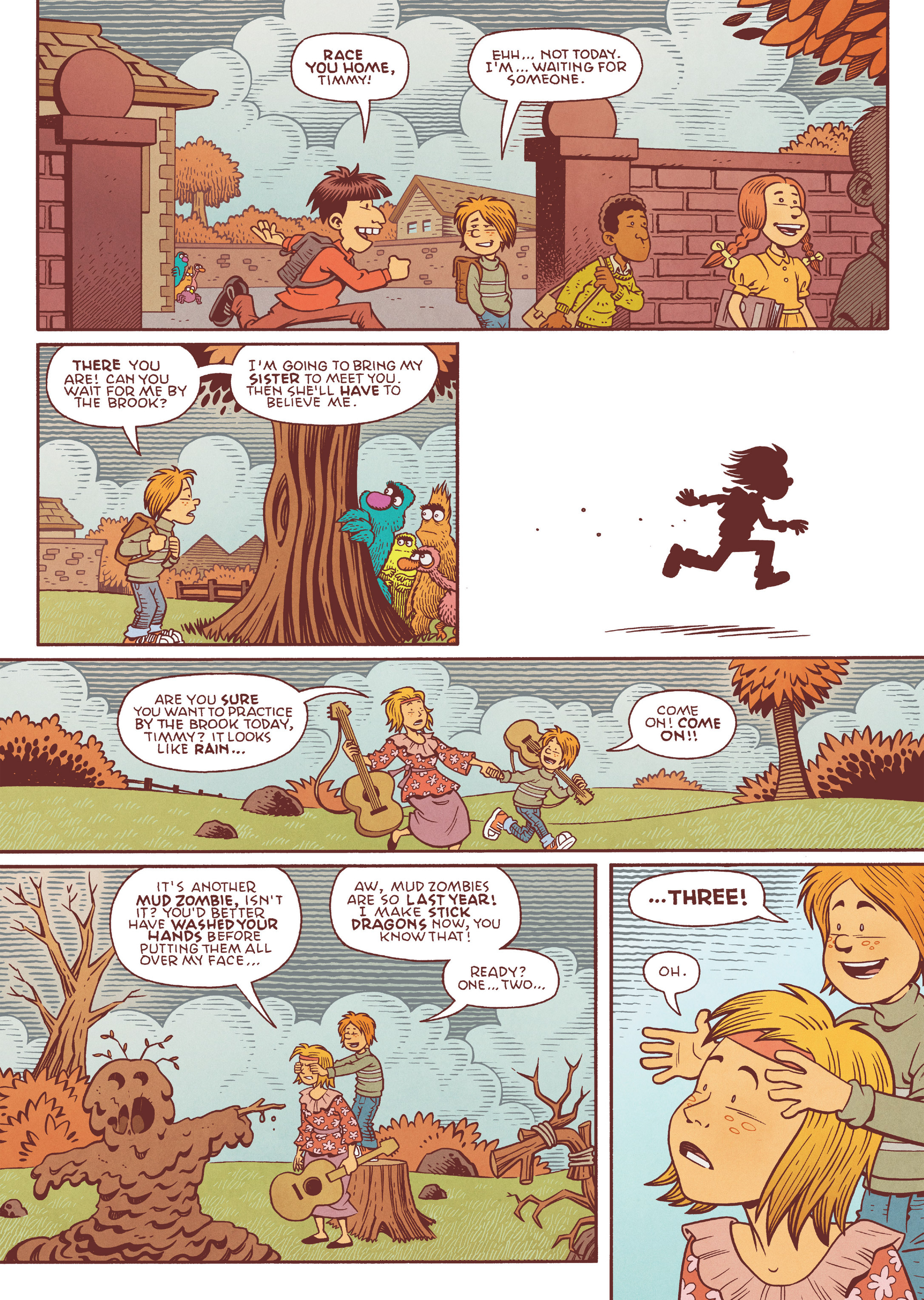 Read online Jim Henson's The Musical Monsters of Turkey Hollow comic -  Issue # Full - 45