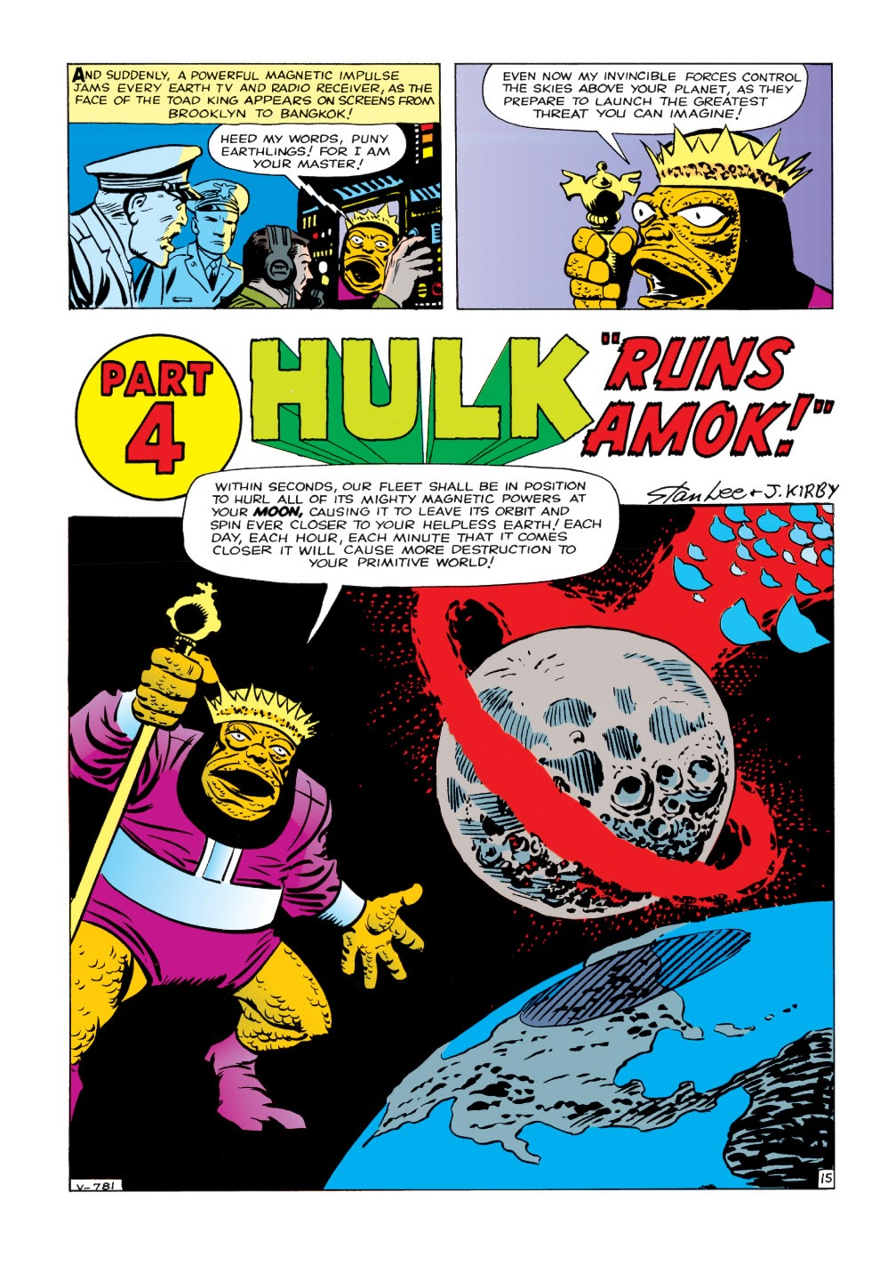 Read online Marvel Masterworks: The Incredible Hulk comic -  Issue # TPB 1 (Part 1) - 43