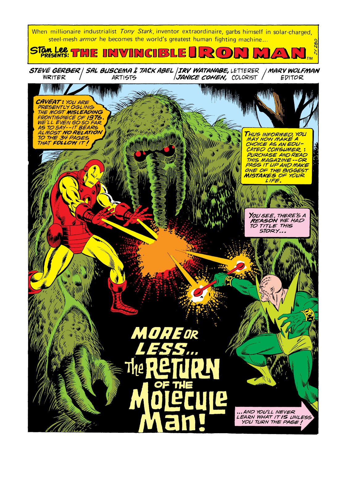 Read online Marvel Masterworks: The Invincible Iron Man comic -  Issue # TPB 11 (Part 2) - 22