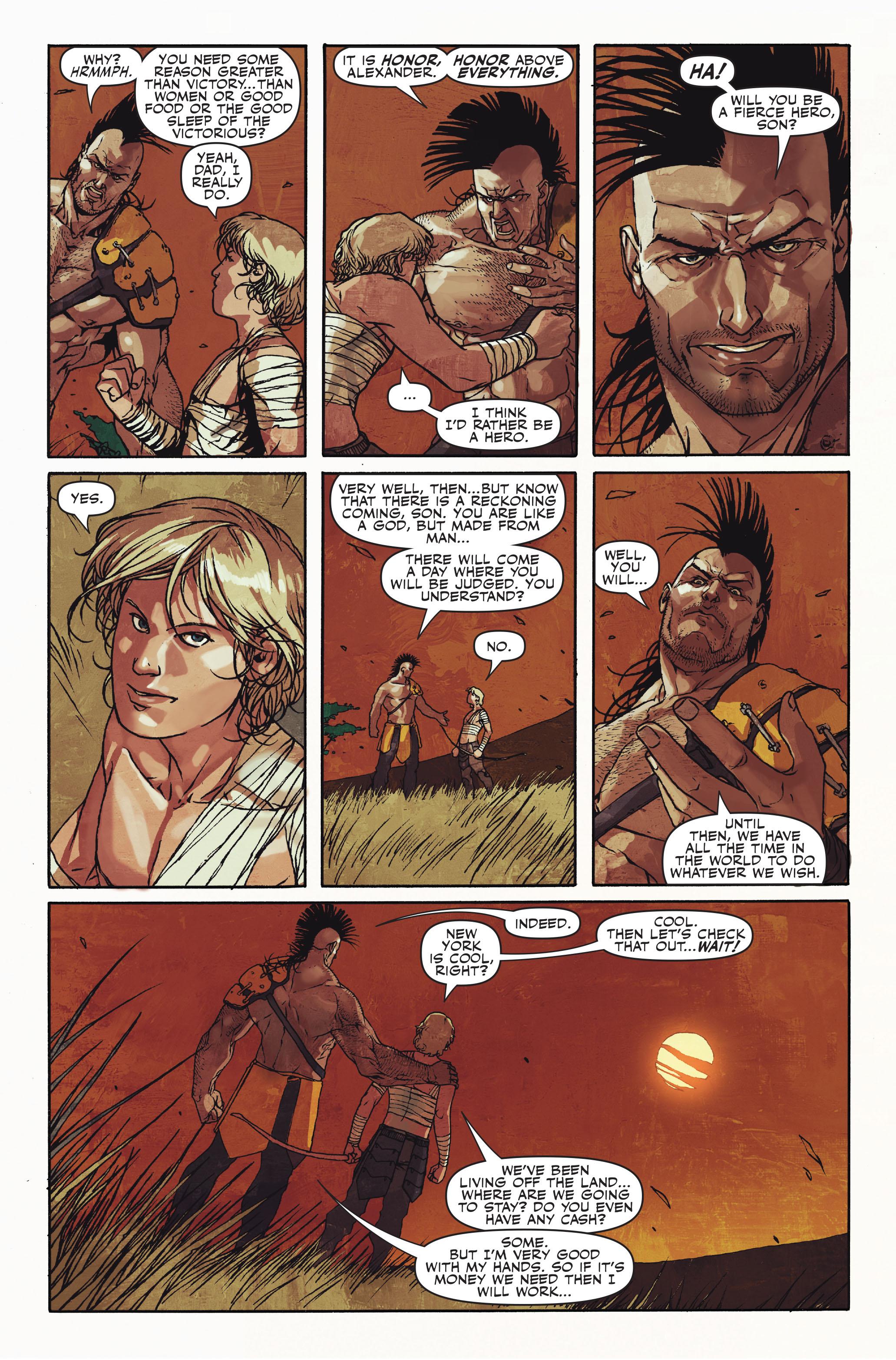 Read online Secret Warriors comic -  Issue #10 - 10