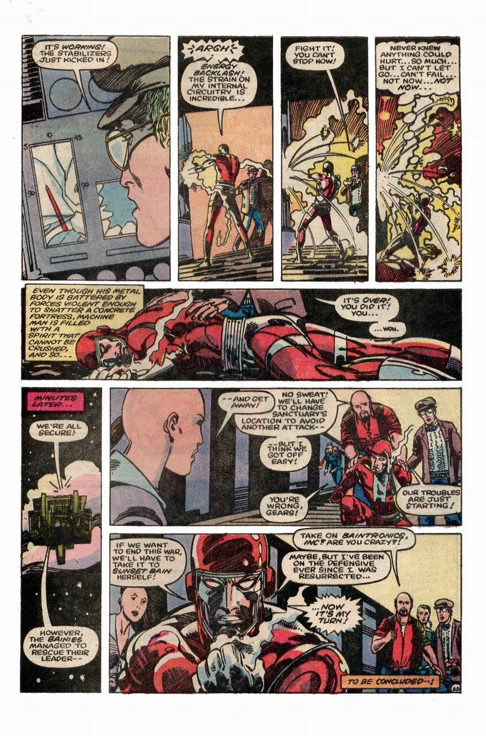 Machine Man (1984) 3 Page 24