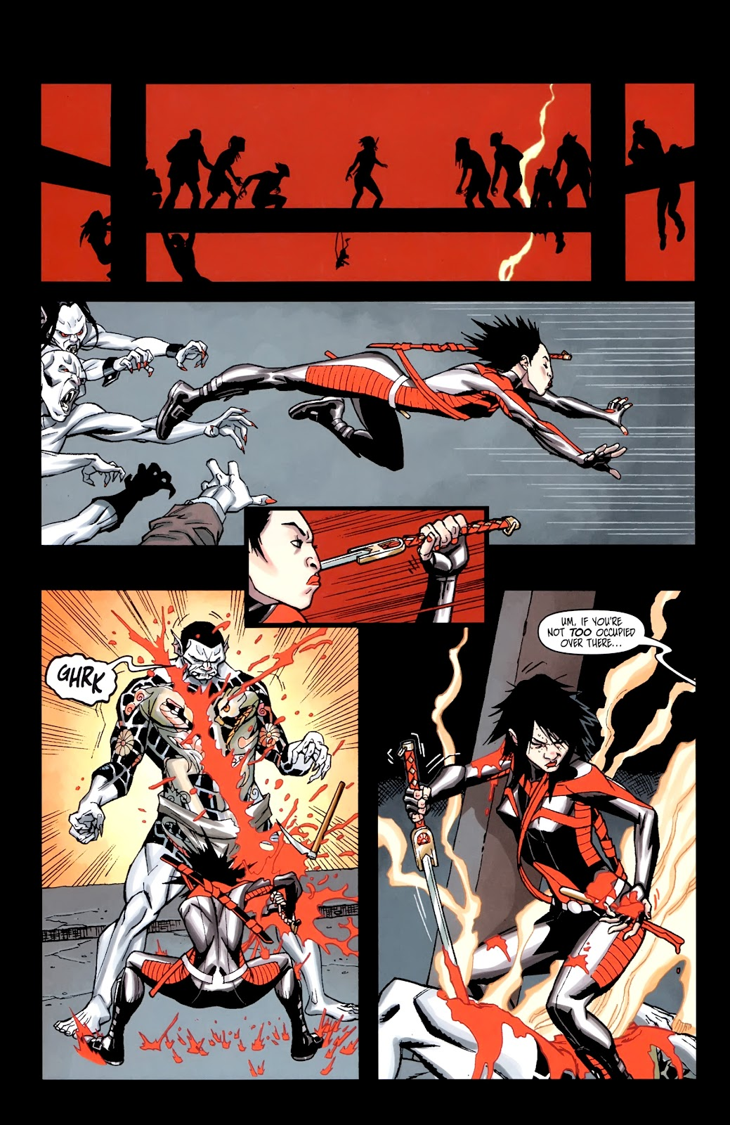 Read online Shinku comic -  Issue #5 - 15
