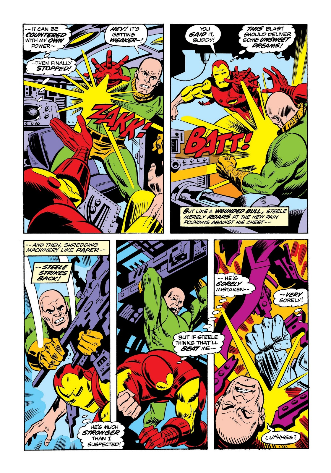Read online Marvel Masterworks: The Invincible Iron Man comic -  Issue # TPB 9 (Part 2) - 61