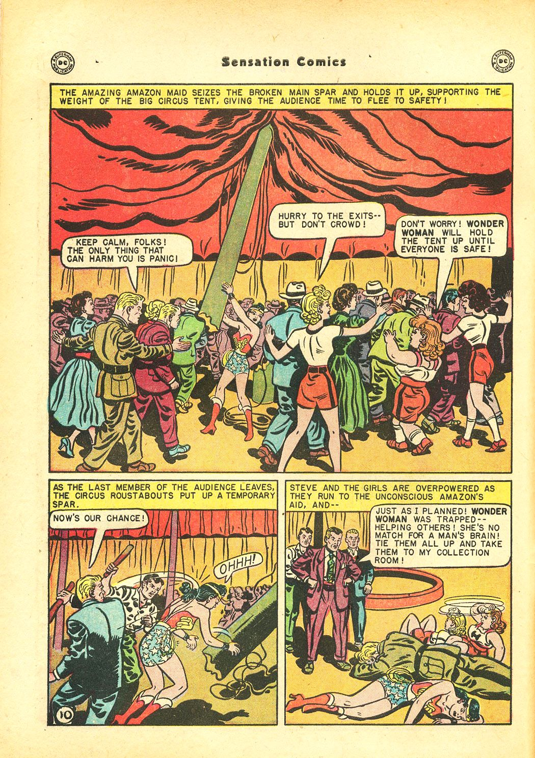 Read online Sensation (Mystery) Comics comic -  Issue #86 - 12