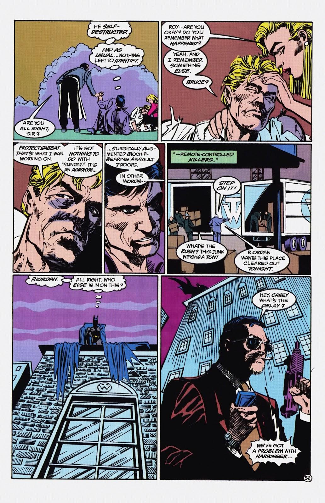 Read online Detective Comics (1937) comic -  Issue # _TPB Batman - Blind Justice (Part 1) - 57