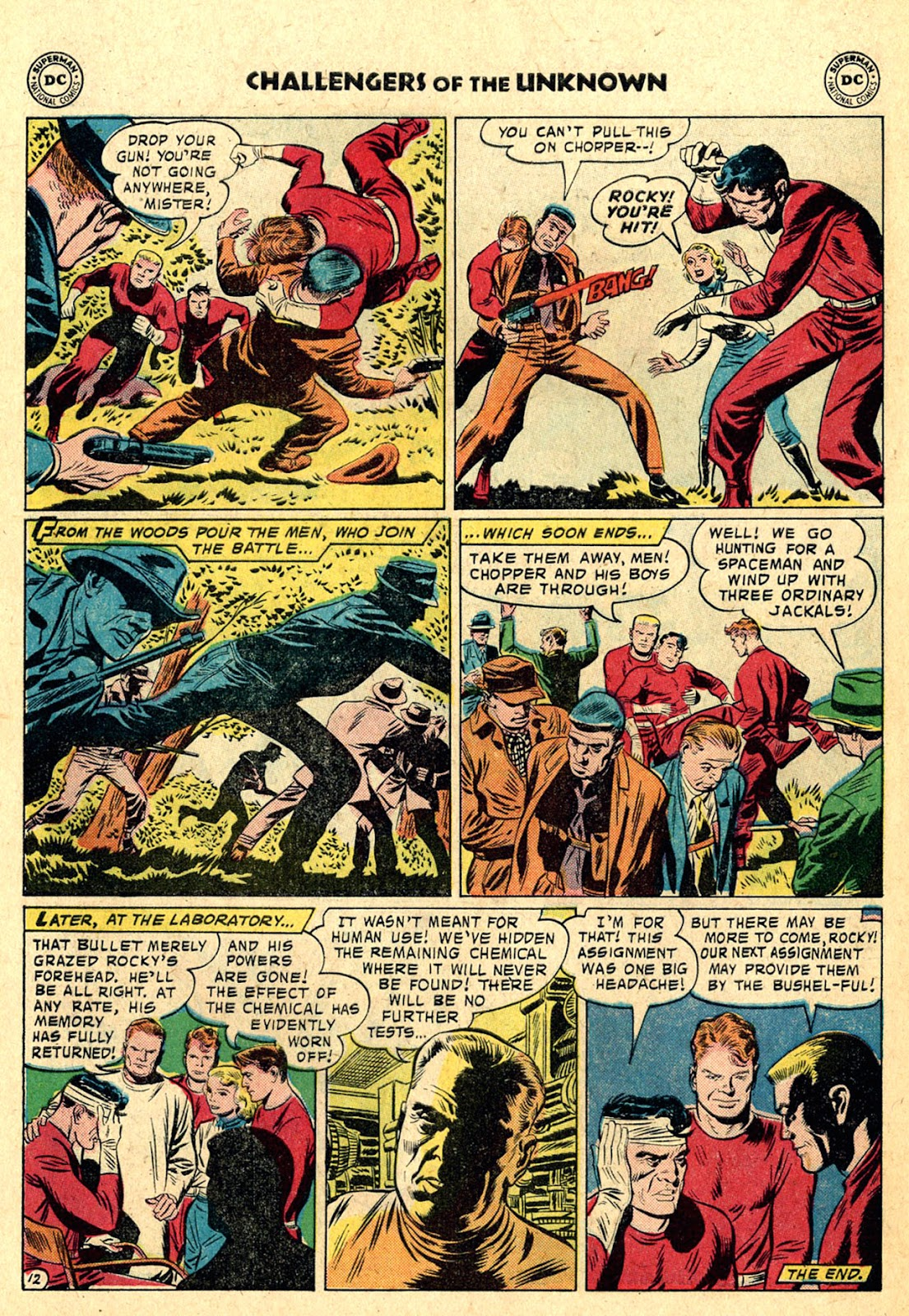 Challengers of the Unknown (1958) issue 3 - Page 30