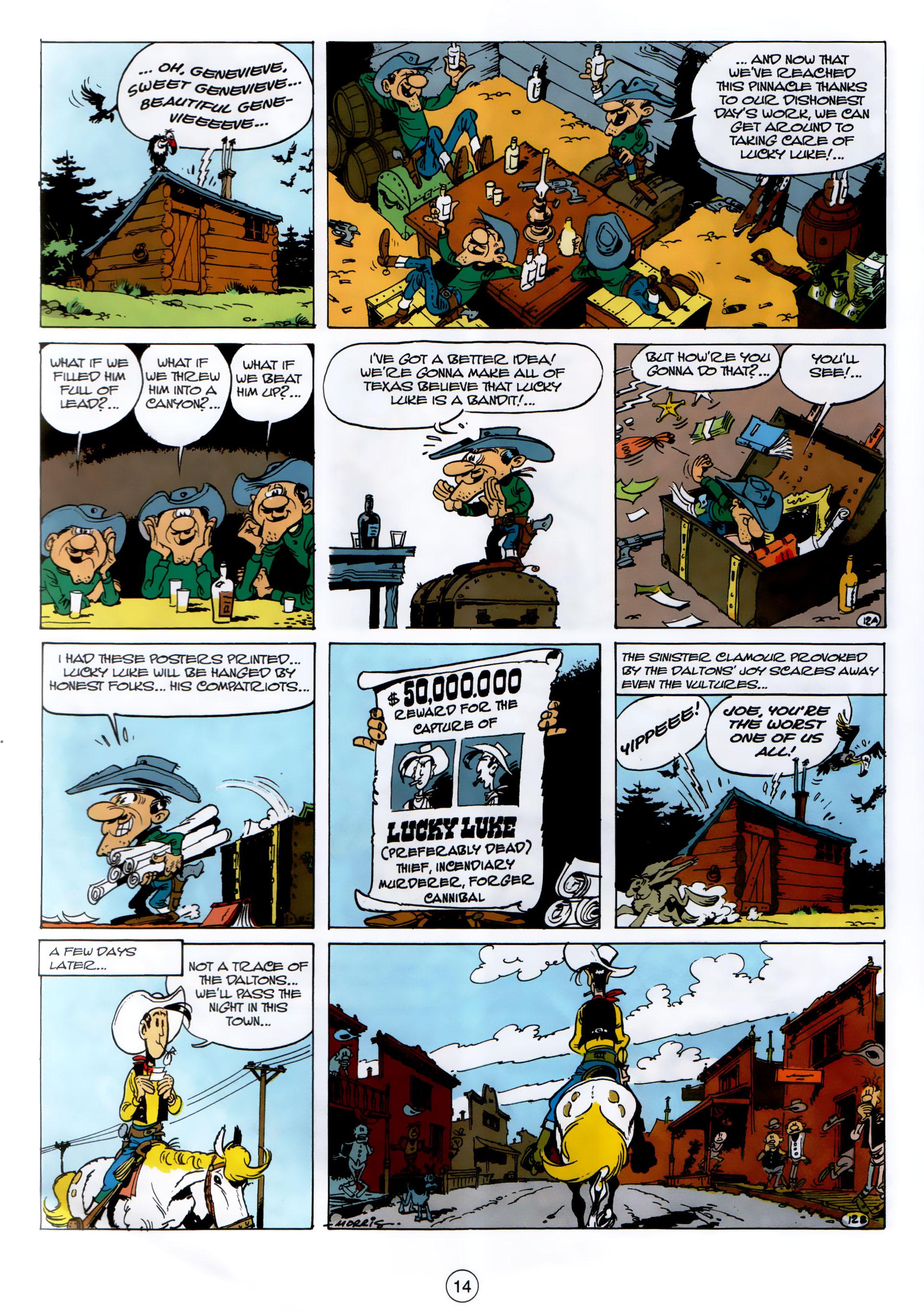 Read online A Lucky Luke Adventure comic -  Issue #30 - 13