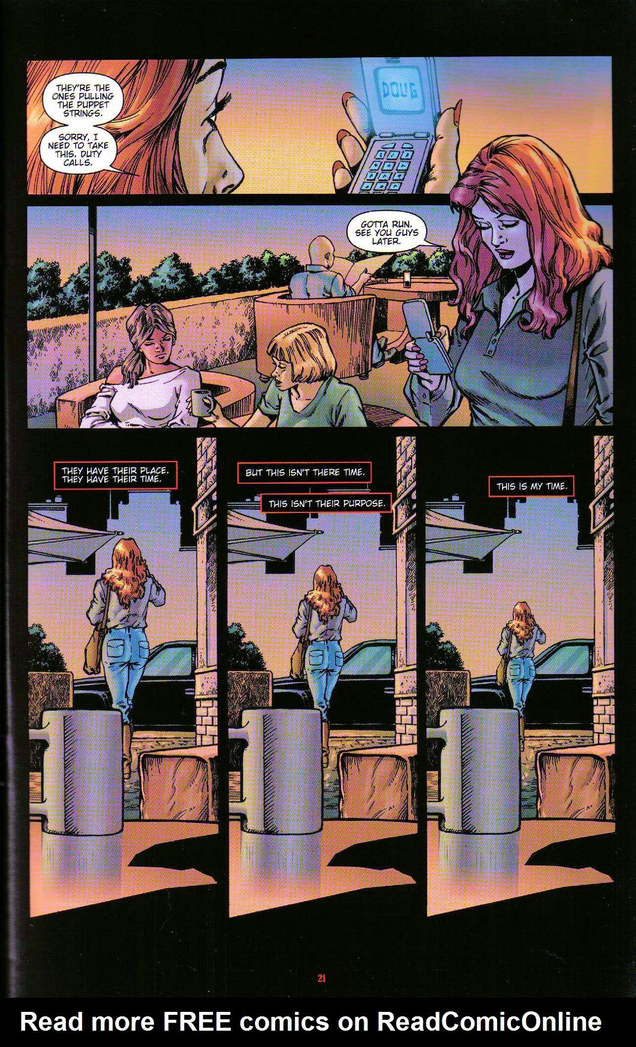 Read online Dominatrix comic -  Issue #6 - 23