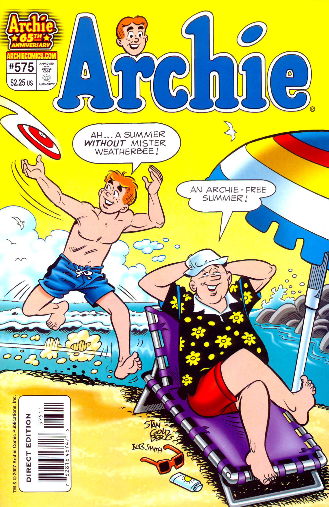 Read online Archie (1960) comic -  Issue #575 - 1