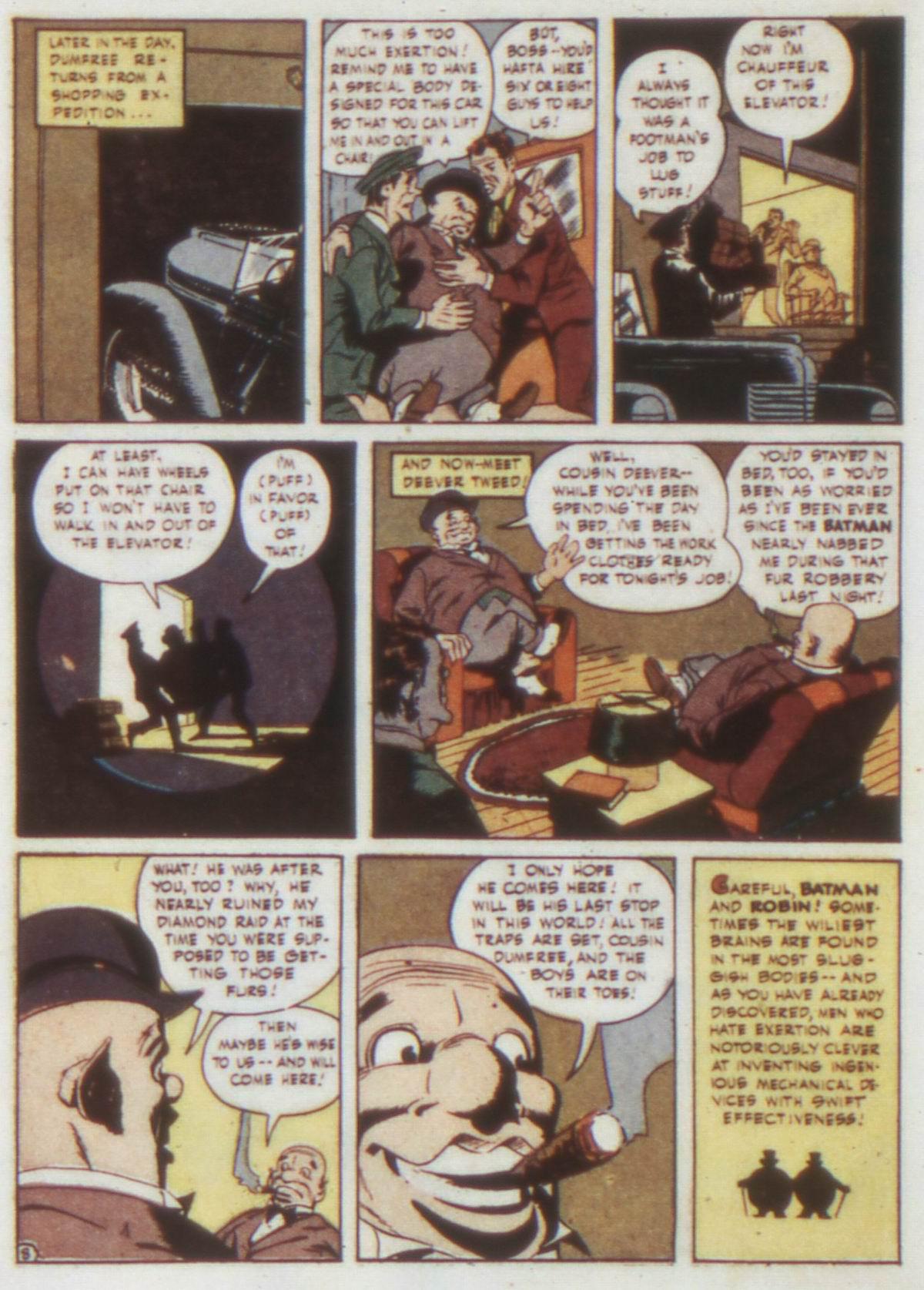 Read online Detective Comics (1937) comic -  Issue #74 - 10