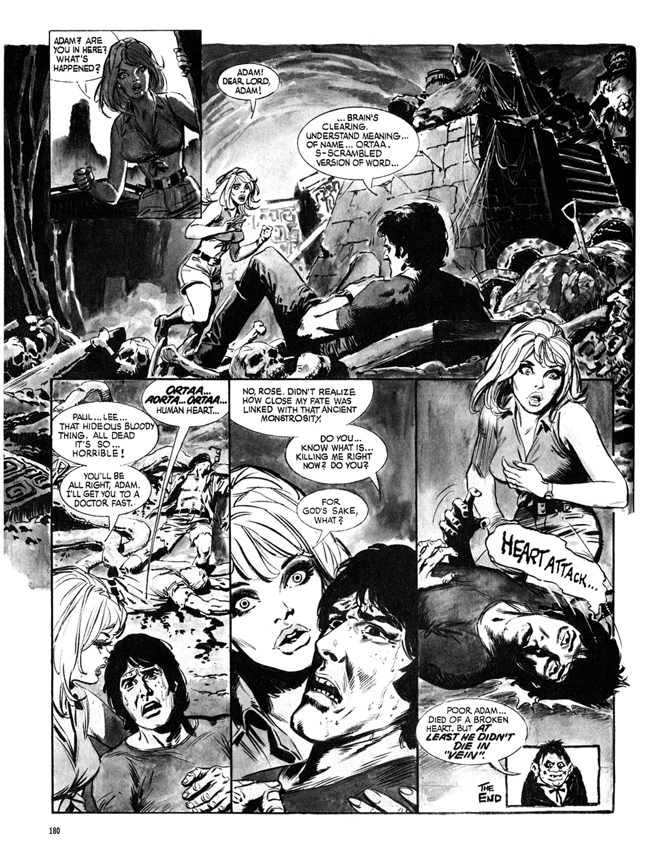 Read online Eerie Archives comic -  Issue # TPB 8 - 181