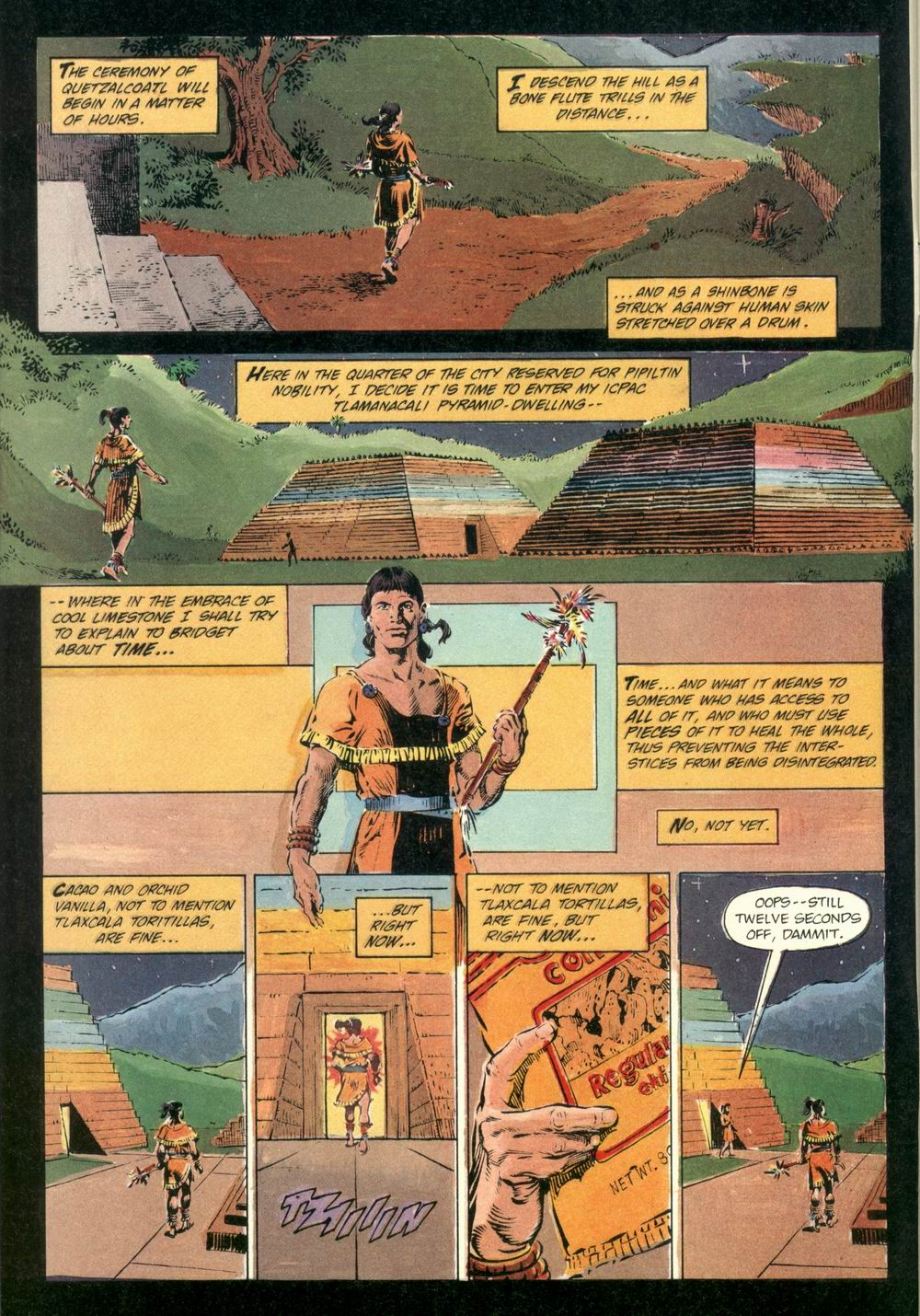 Read online Aztec Ace comic -  Issue #1 - 4