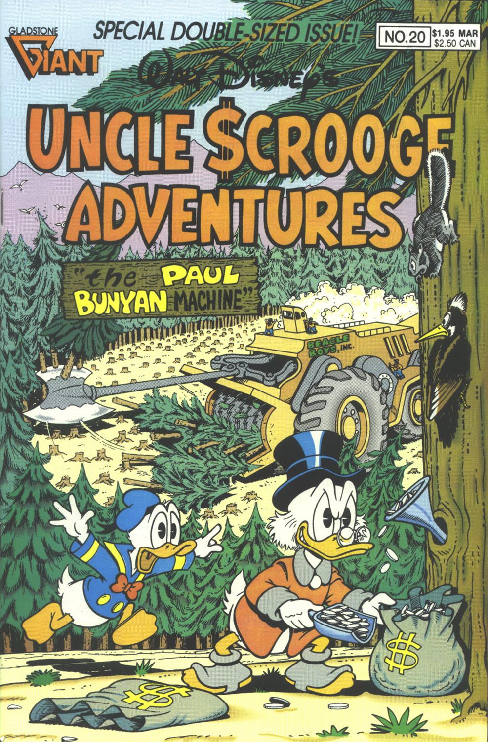Walt Disney's Uncle Scrooge Adventures issue 20 - Page 1