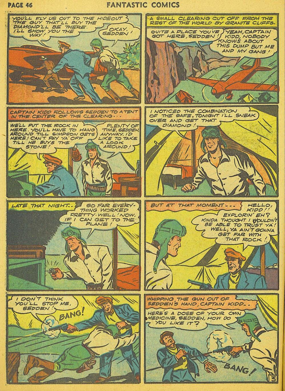 Read online Fantastic Comics comic -  Issue #15 - 40