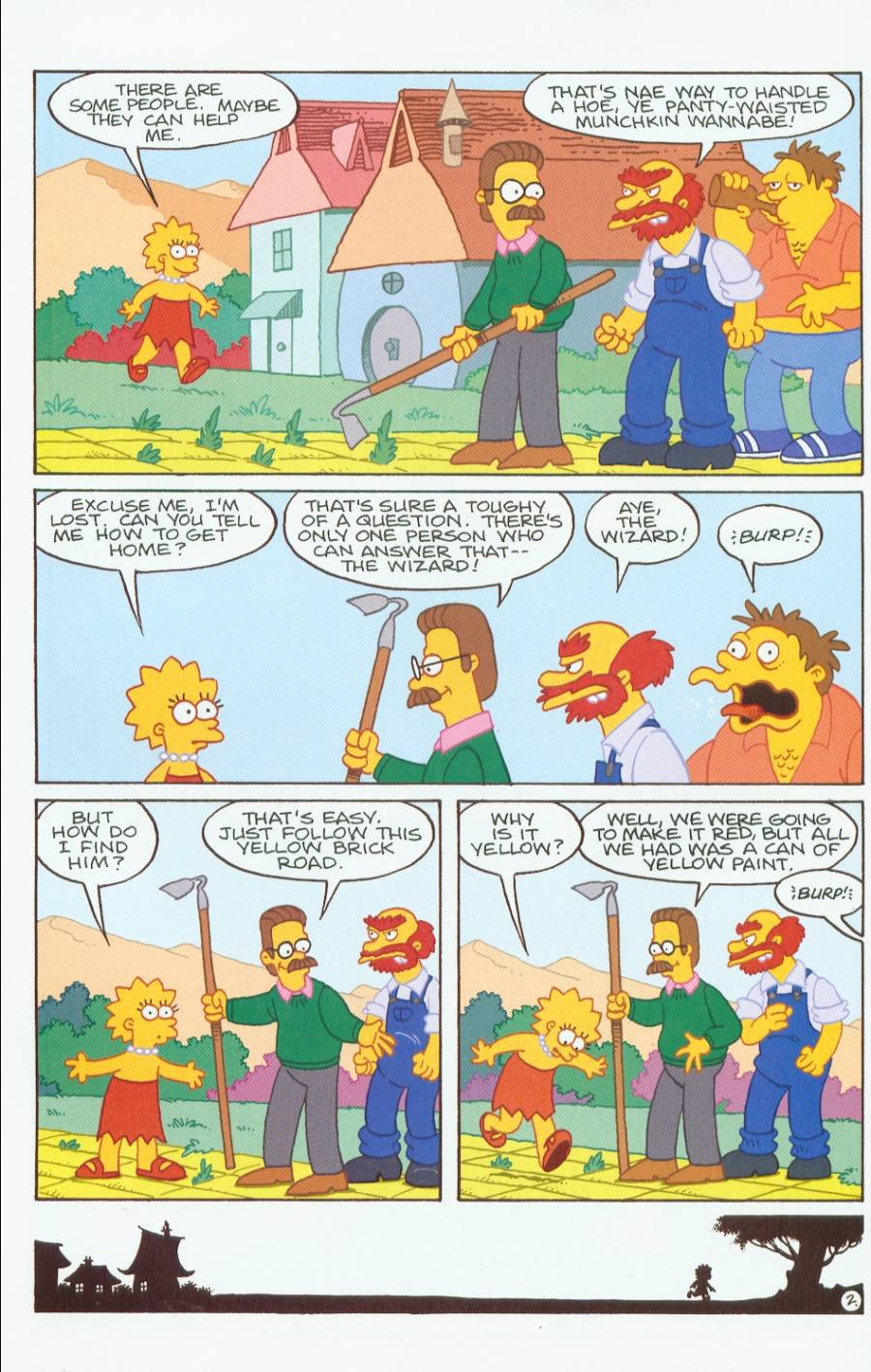 Read online Treehouse of Horror comic -  Issue #7 - 15